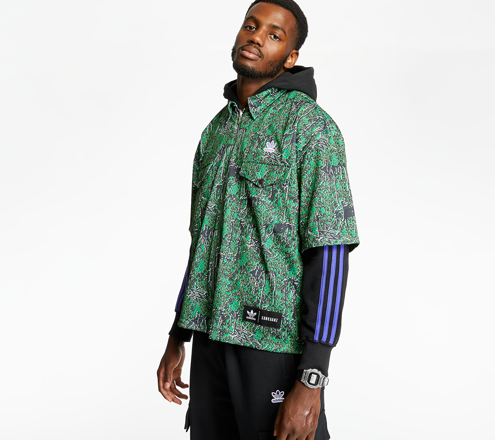 adidas x Sankuanz Shirt Hoodie Black S
