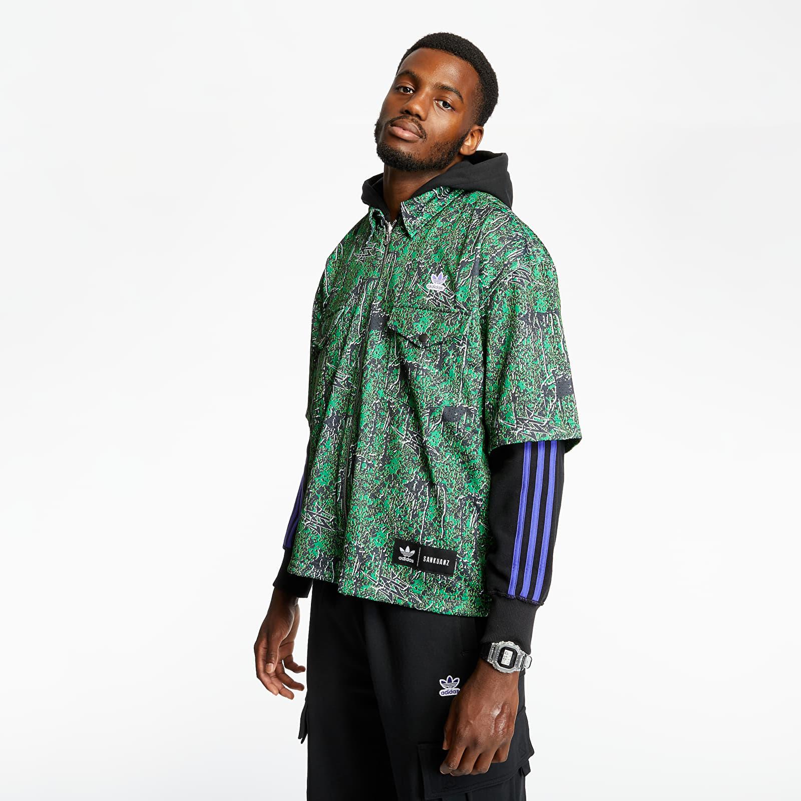 Hoodies and sweatshirts adidas x Sankuanz Shirt Hoodie Black