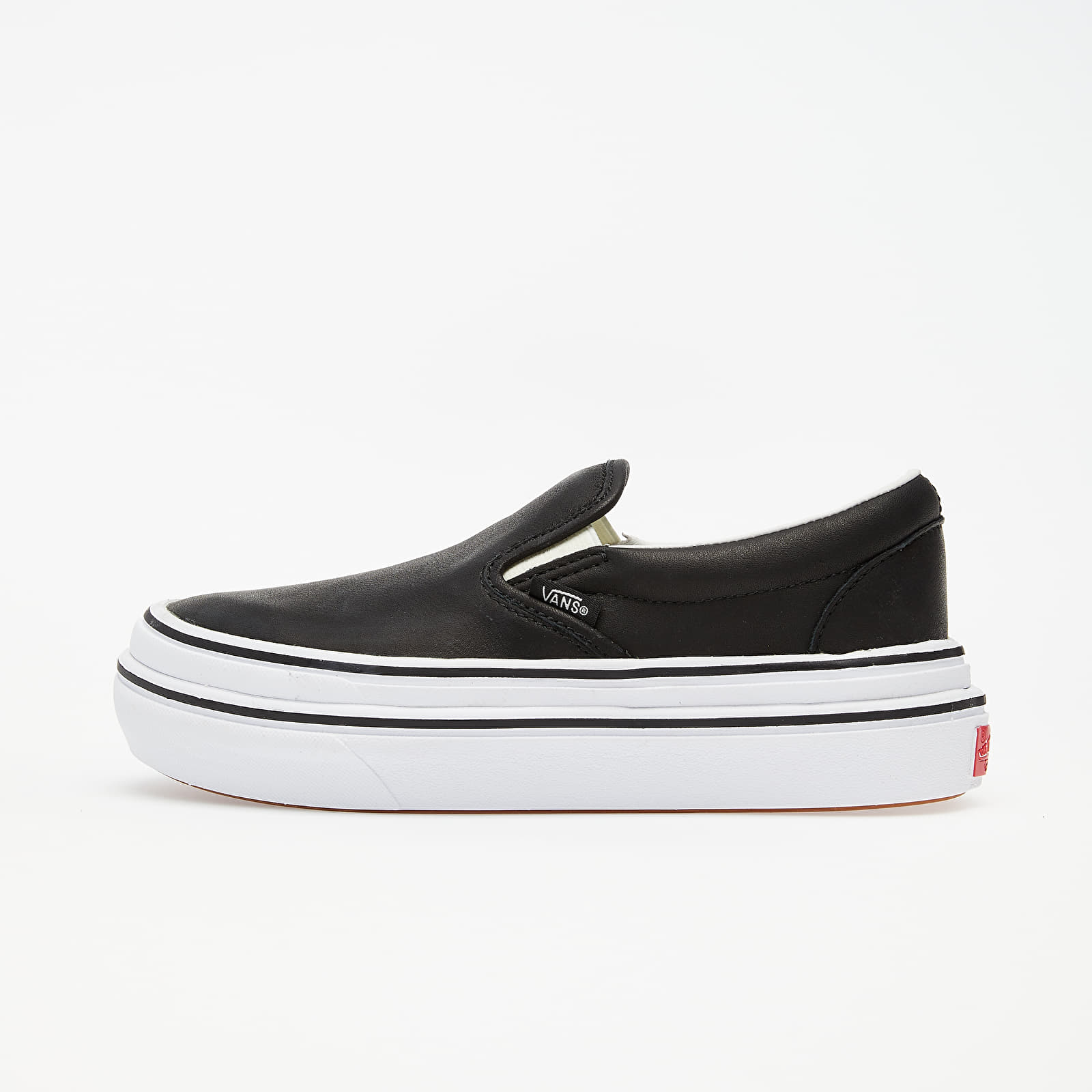 Men's shoes Vans Super Comfycush Slip-On (Leather) Black