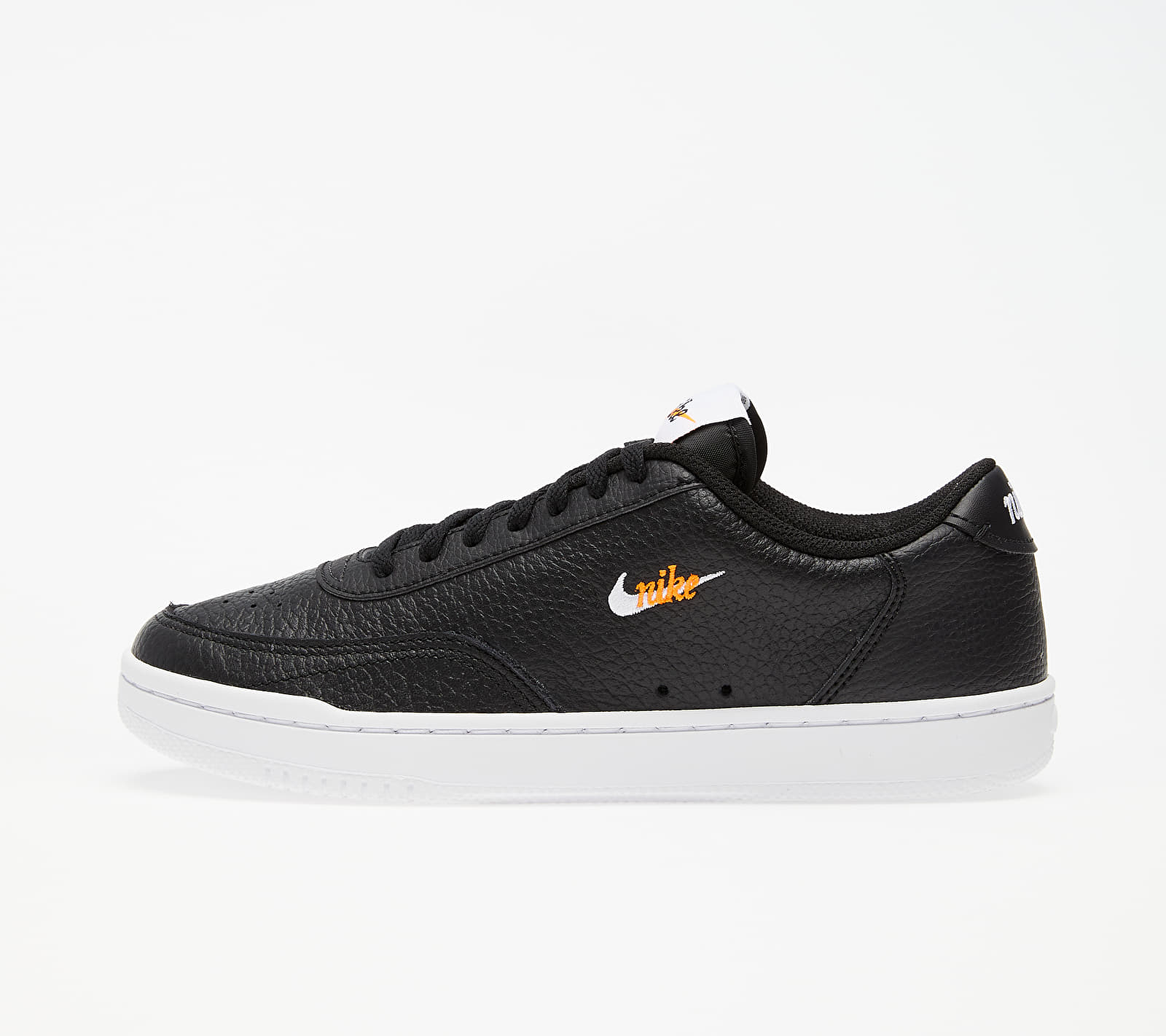 Nike Wmns Court Vintage Premium Black/ White-Total Orange EUR 40.5