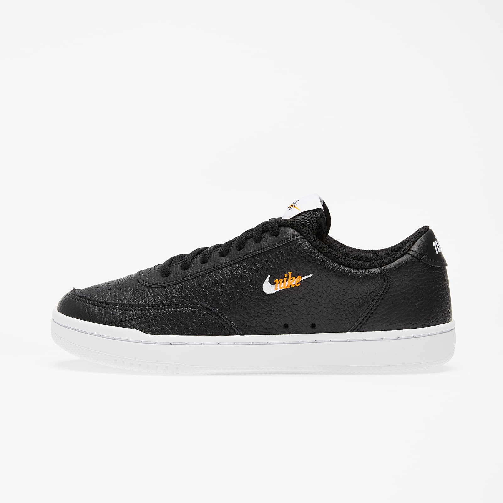 Women's shoes Nike Wmns Court Vintage Premium Black/ White-Total Orange