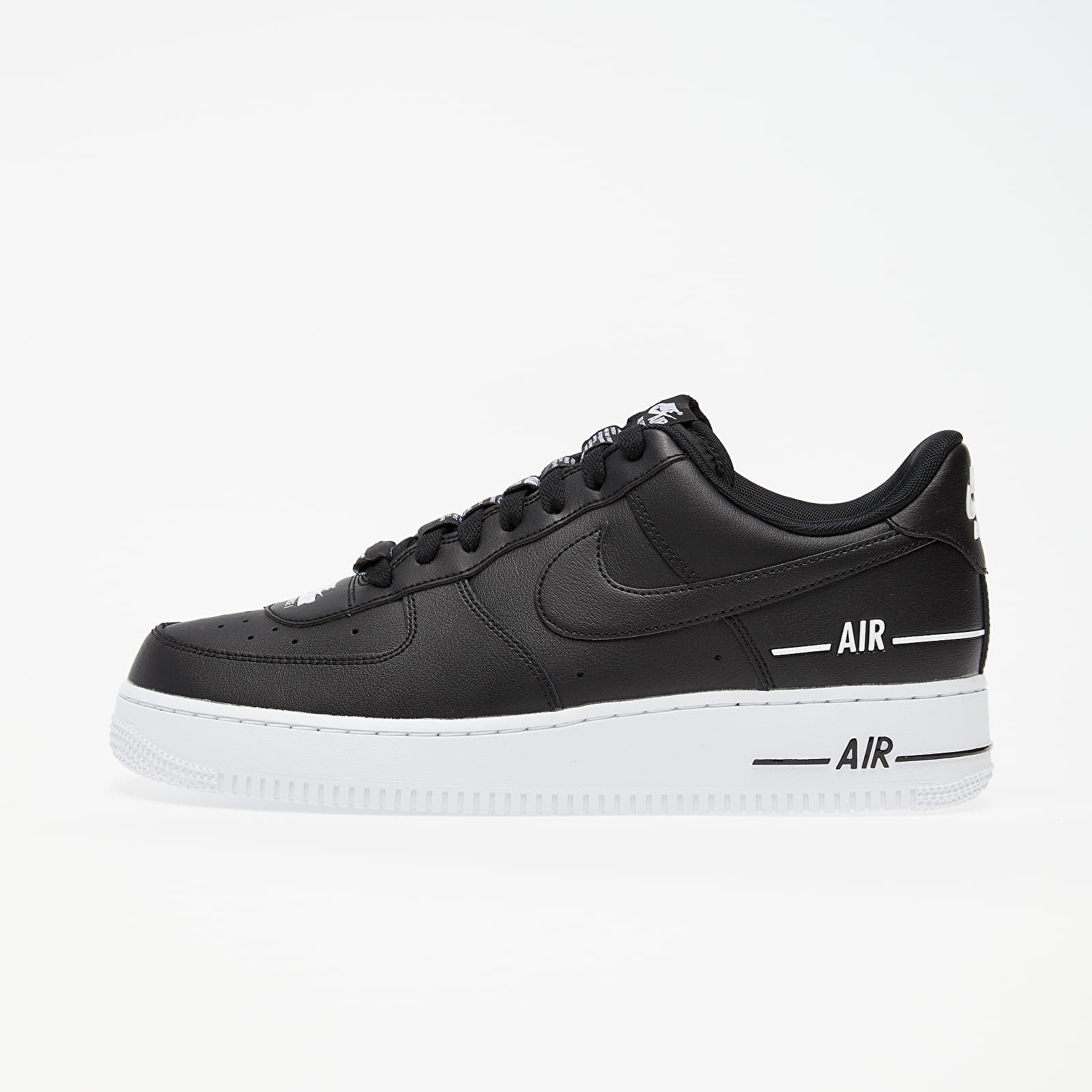 Männer Nike Air Force 1 '07 Lv8 3 Black/ Black-White