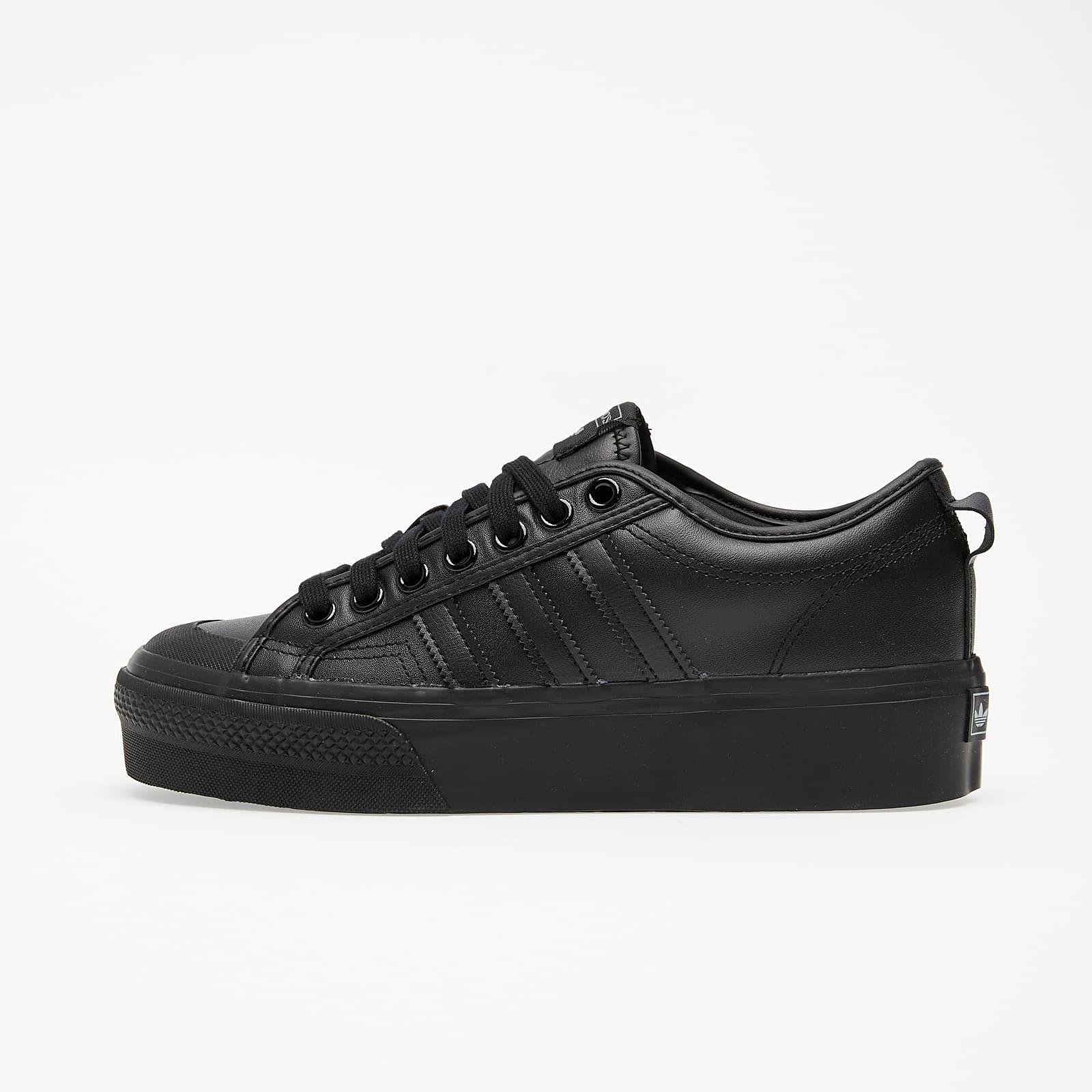 Női cipők adidas Nizza Platform W Core Black/ Core Black/ Core Black
