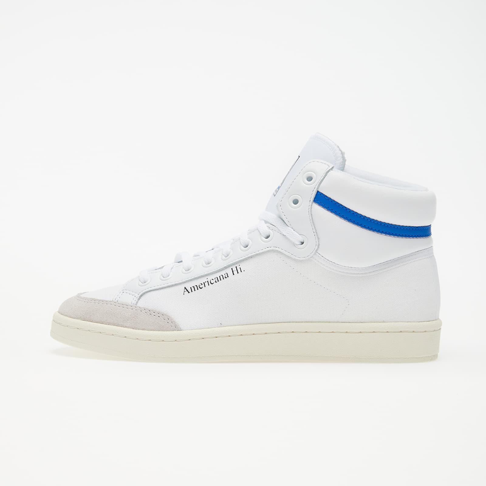Férfi cipők adidas Americana Hi Ftw White/ Glow Blue/ Core Black