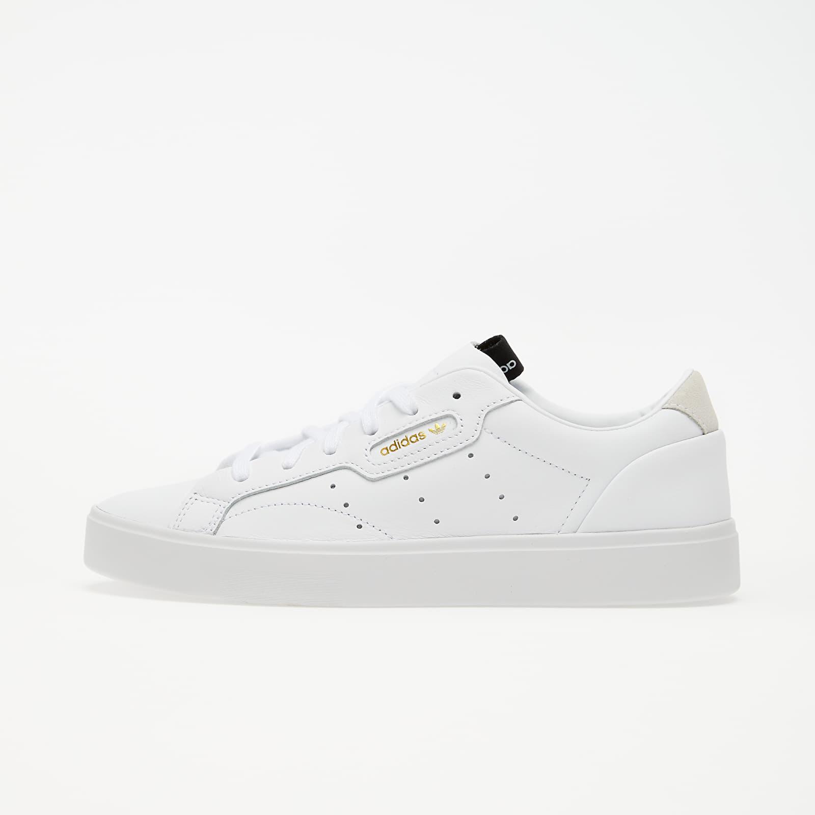 Dámské tenisky a boty adidas Sleek W Ftw White/ Ftw White/ Crystal White