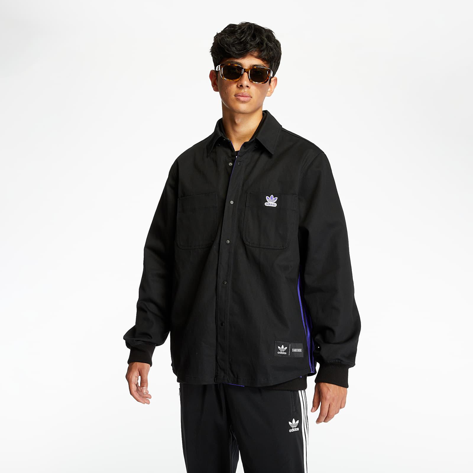Jackets adidas x Sankuanz DS Reversible Jacket Energy Ink/ Black