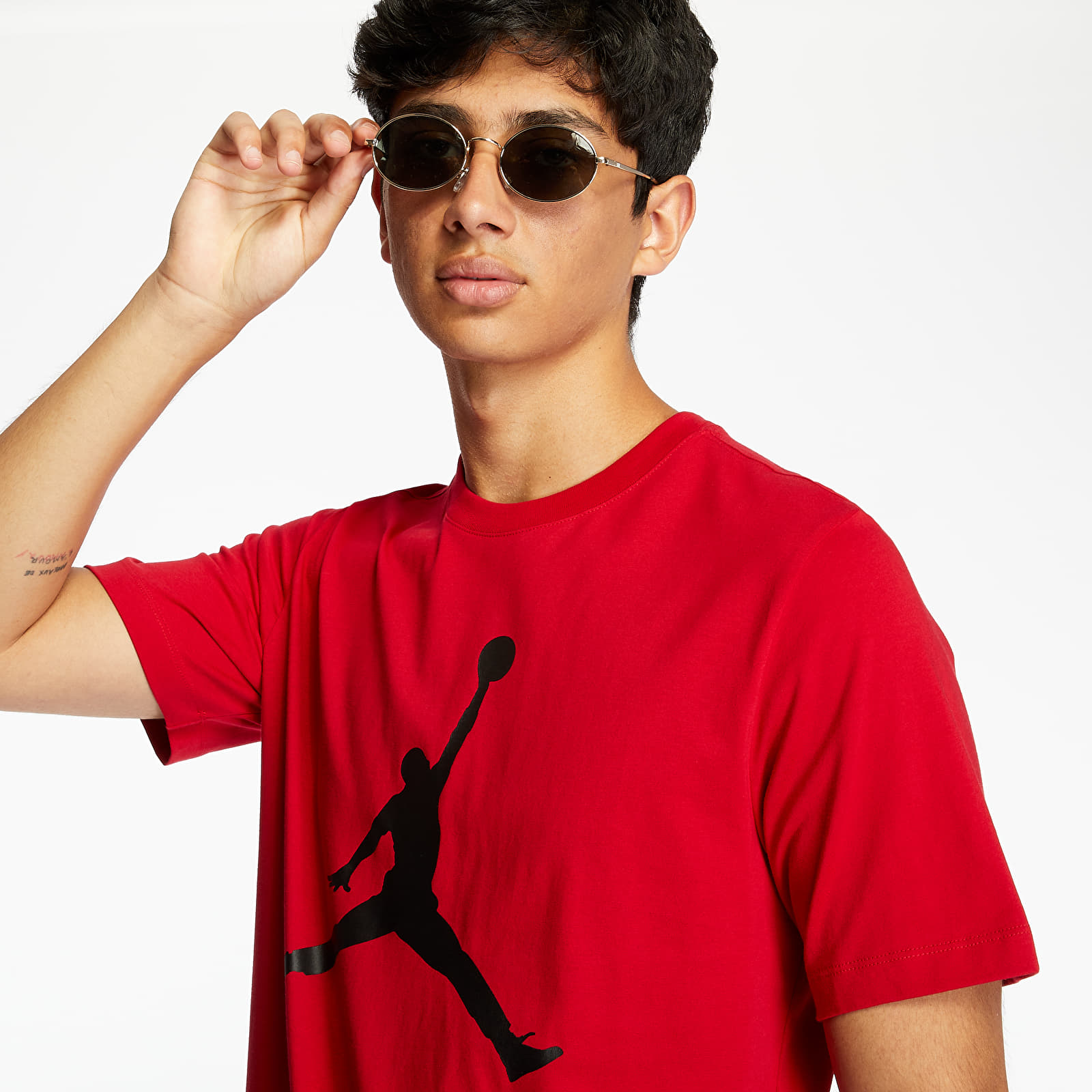 T-shirts Jordan Air Jumpman Tee Red