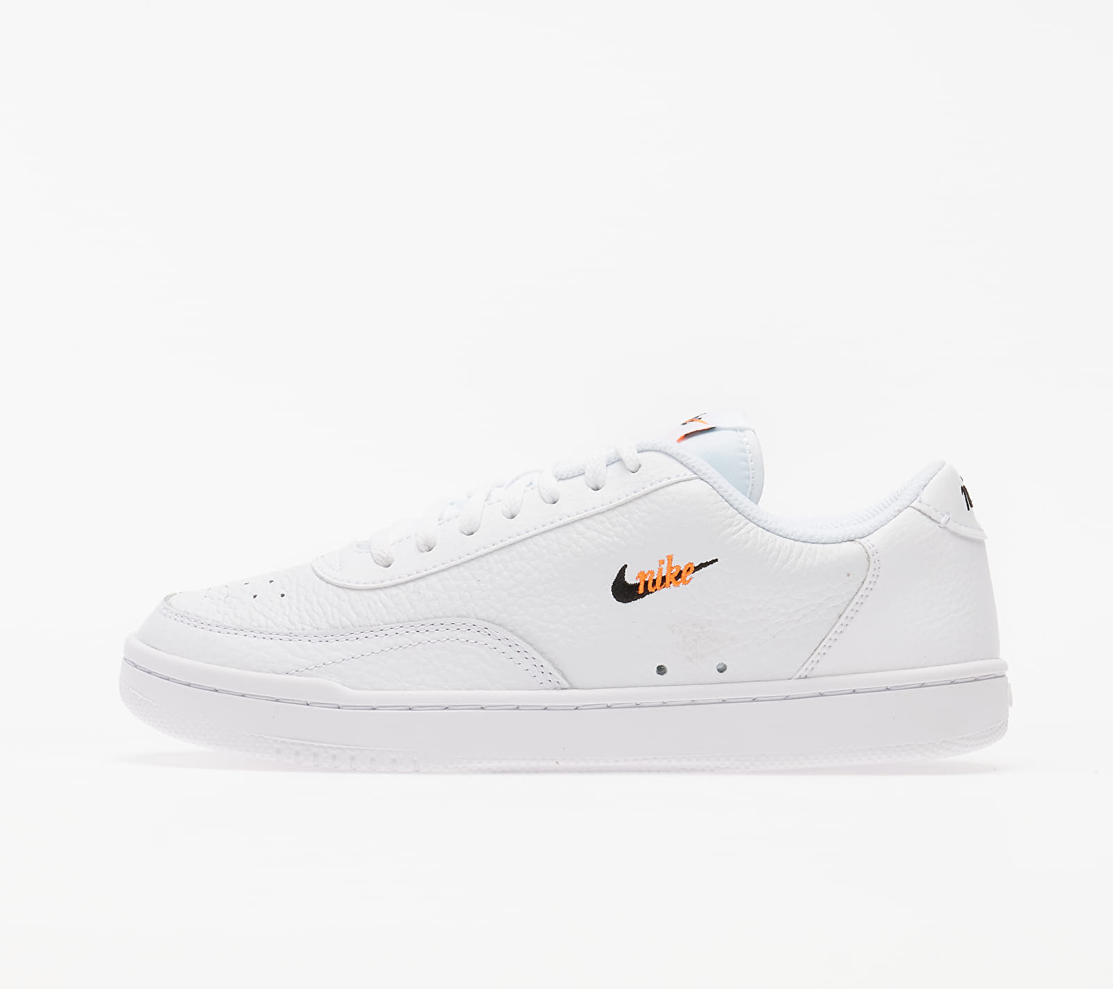 Nike Wmns Court Vintage Premium White/ Black-Total Orange EUR 40.5