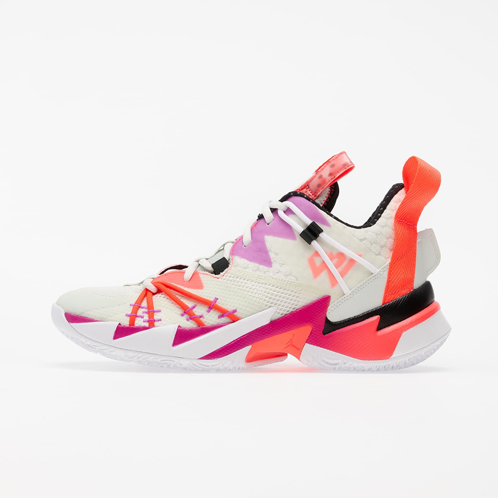 "Men's shoes Jordan ""Why Not?"" Zer0.3 SE Sail/ Black-Spruce Aura-Flash Crimson"