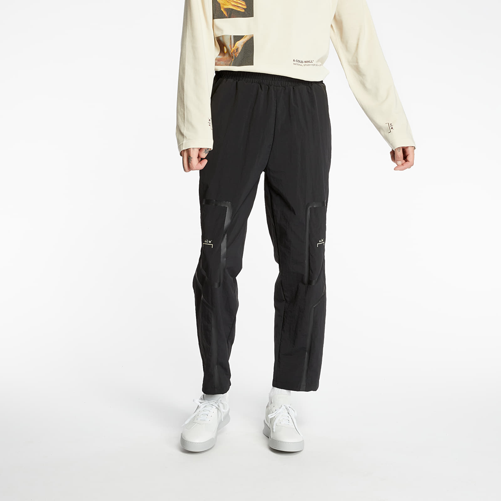 Pants and jeans A-COLD-WALL* Tonal Print Pants Black