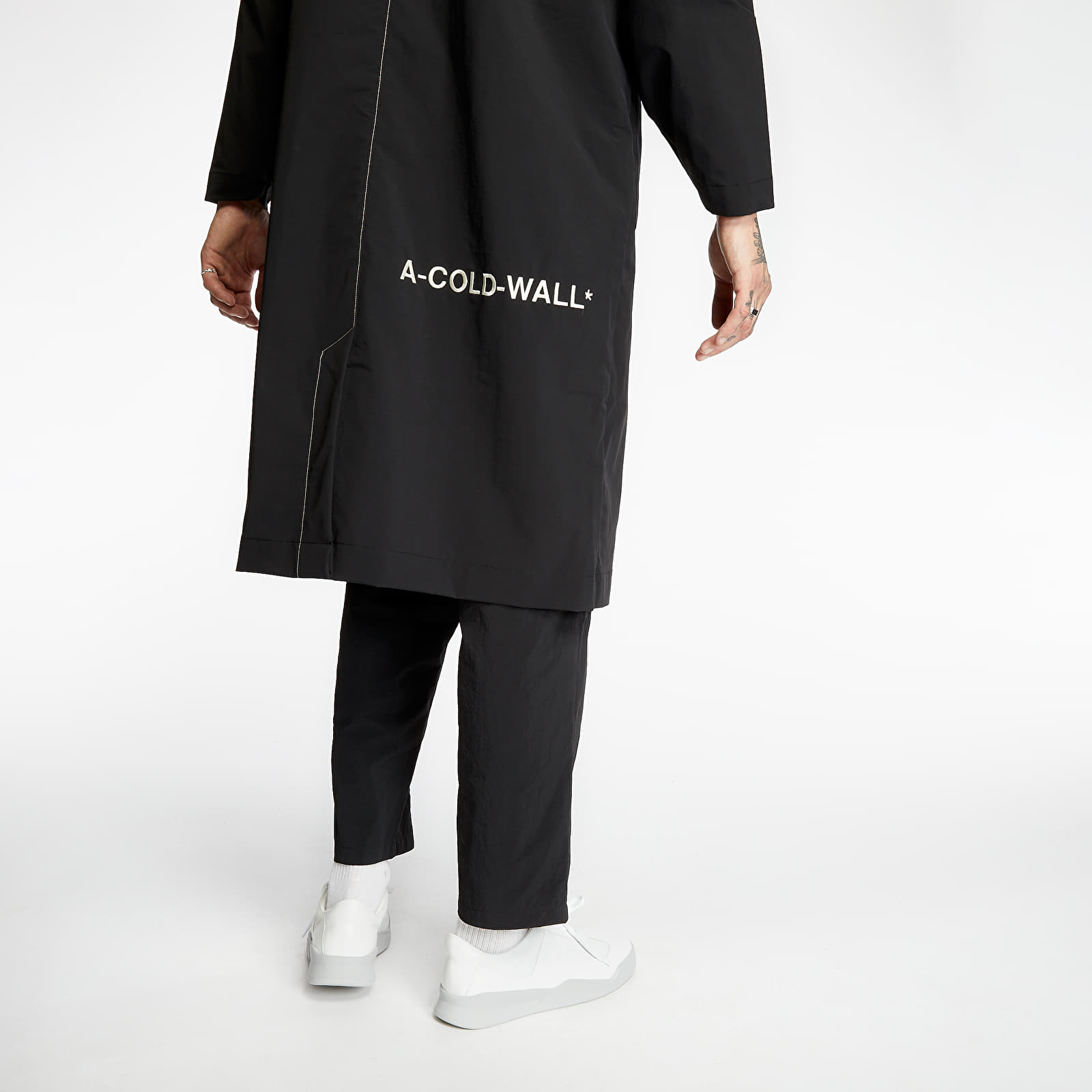 Kabáty A-COLD-WALL* Staff Coat Black