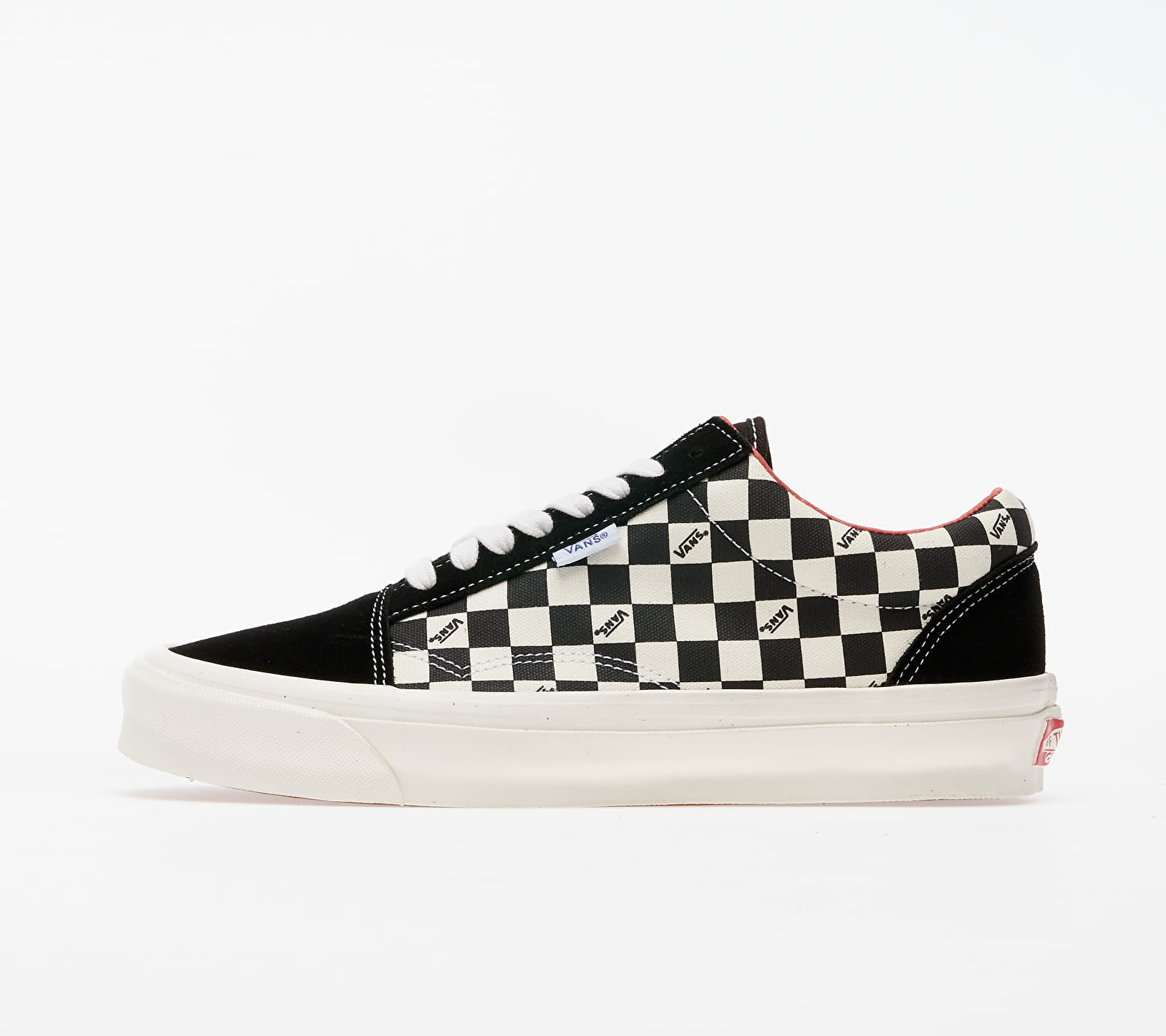 Vans Vault Old Skool NS OG LX (Suede/ Canvas) Checkerboard EUR 35