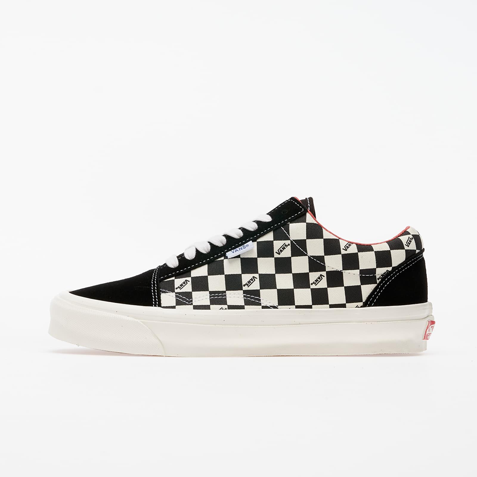 Herren Sneaker und Schuhe Vans Old Skool NS OG LX (Suede/ Canvas) Checkerboard