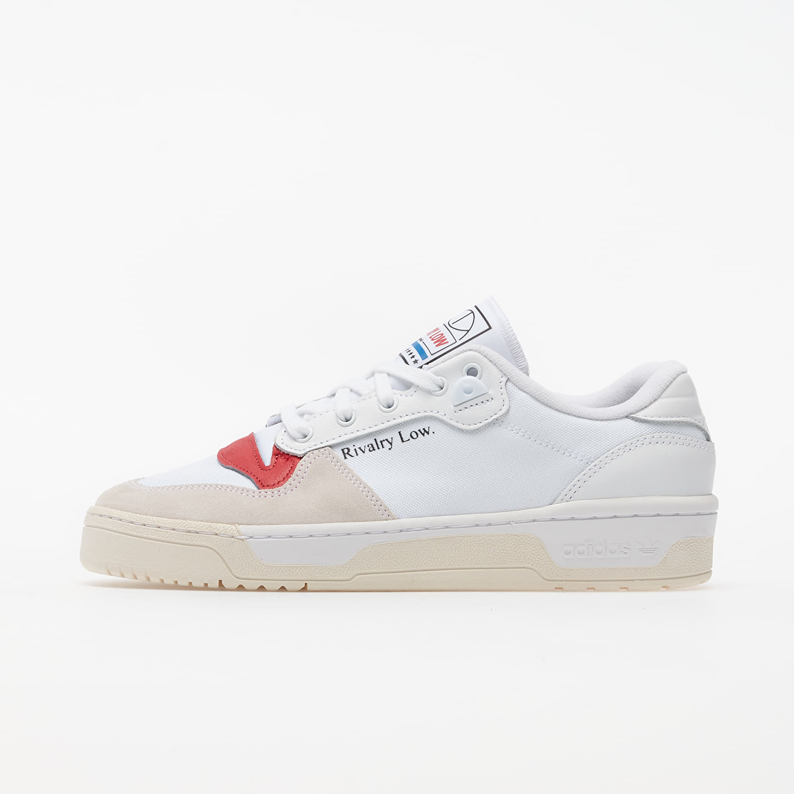 Pánské tenisky a boty adidas Rivalry Low Ftw White/ Core White/ Glow Red