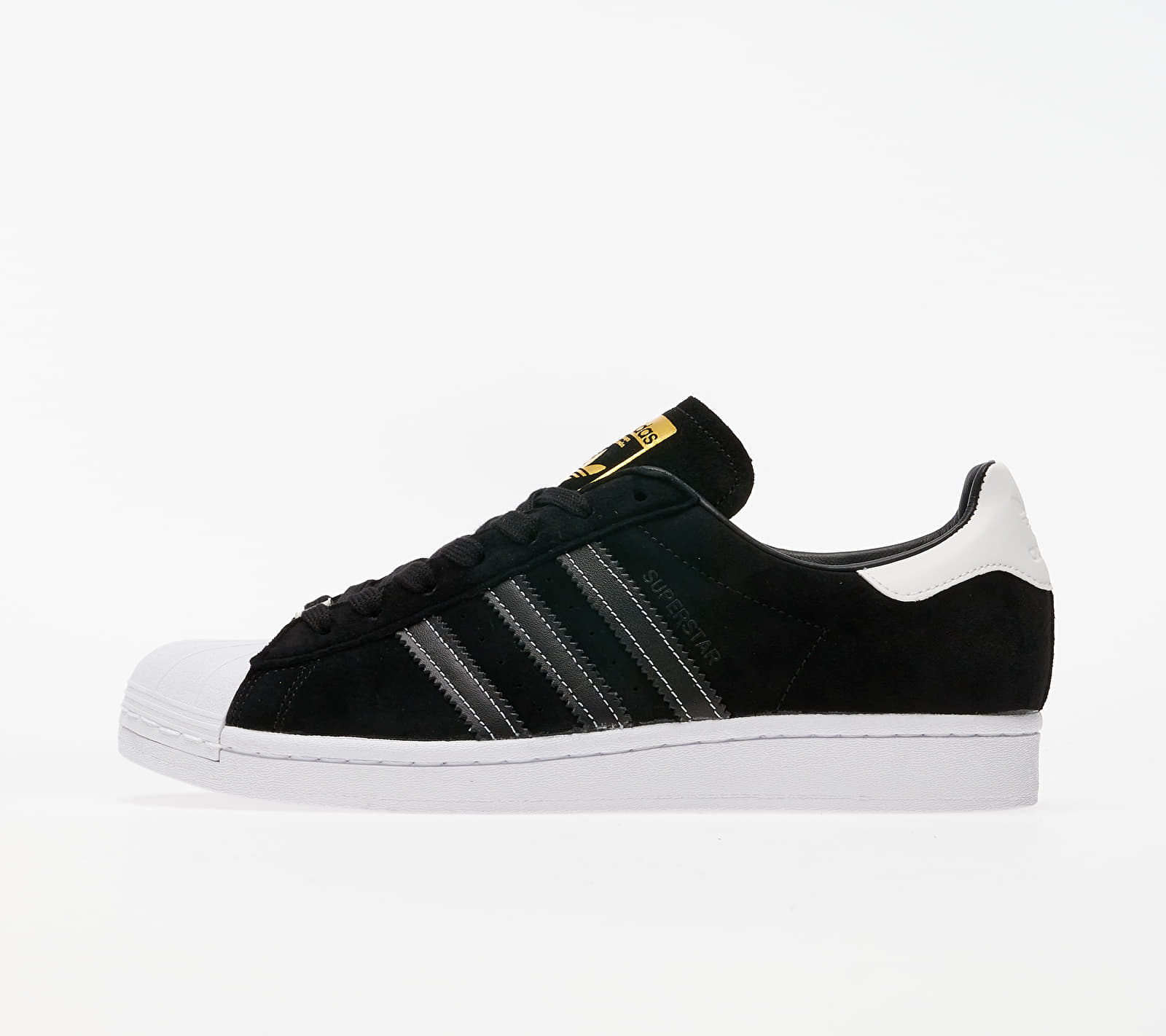 adidas Superstar Core Black/ Core Black/ Gold Metalic EUR 41 1/3