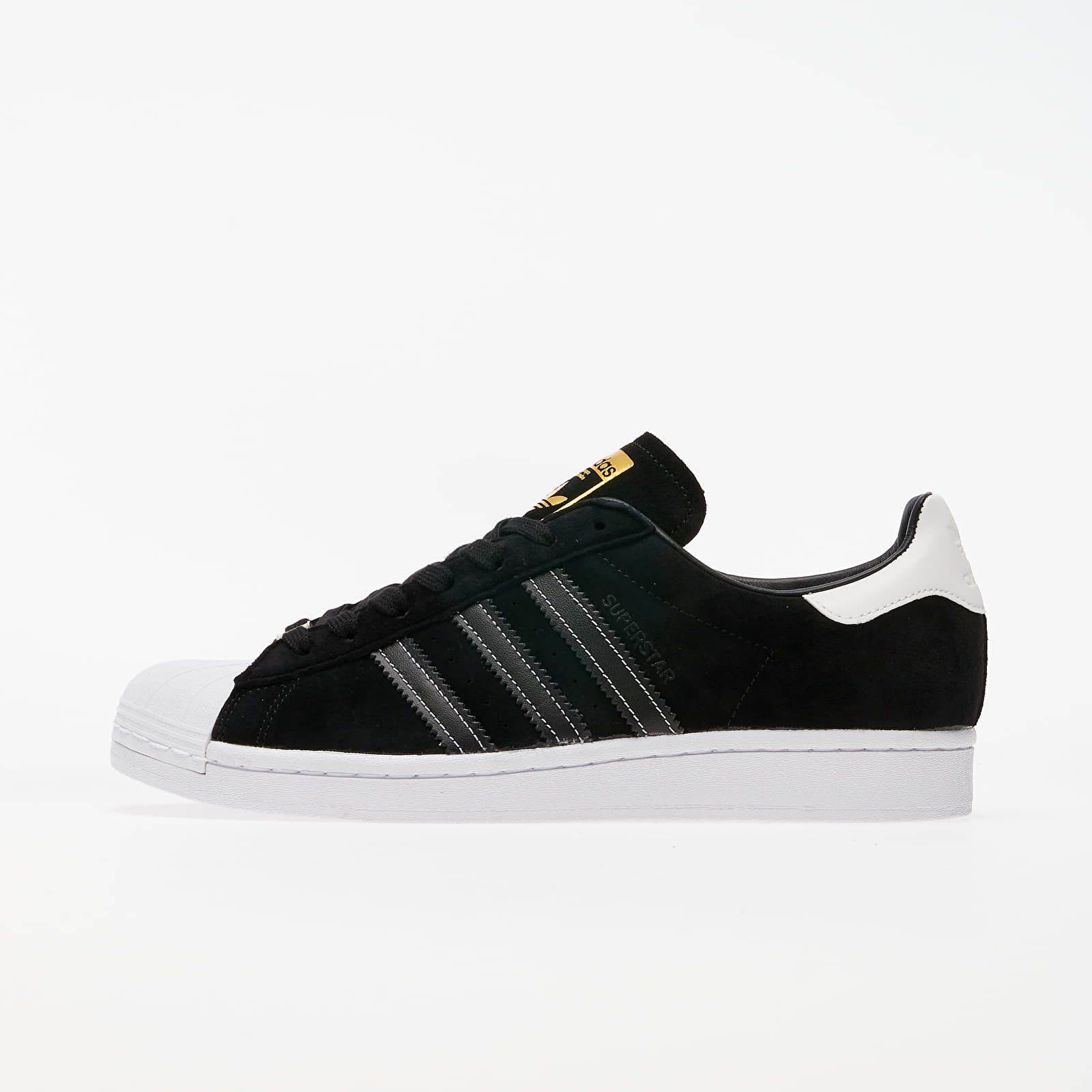 Men's shoes adidas Superstar Core Black/ Core Black/ Gold Metalic