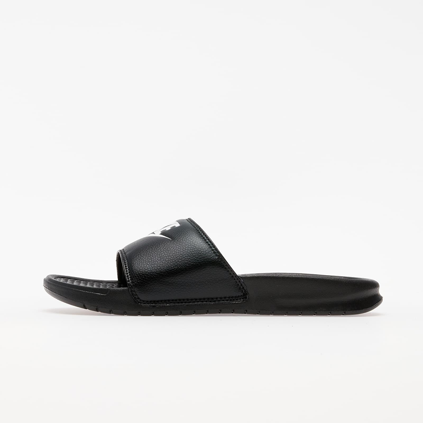Chaussures et baskets homme Nike Benassi Jdi Black/ White