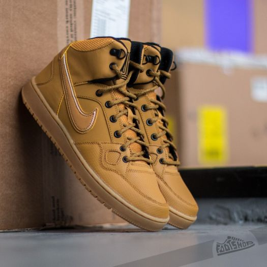 Nike Son Of Force Mid Winter Wheat Wheat Black Gum Light Brown | Footshop