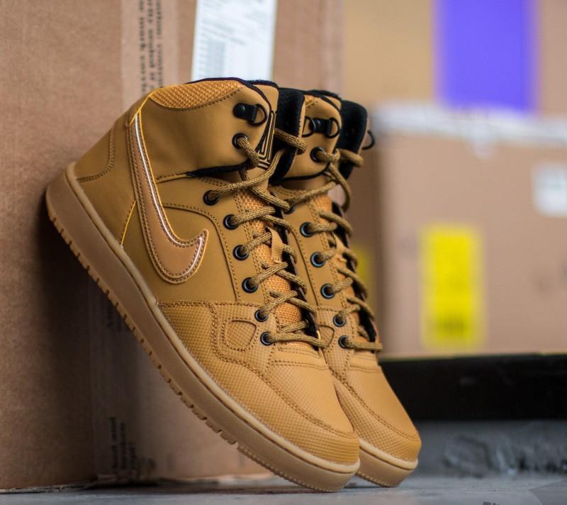 Tregua motivo ácido  Men's shoes Nike Son Of Force Mid Winter Wheat/ Wheat Black-Gum Light Brown  | Footshop