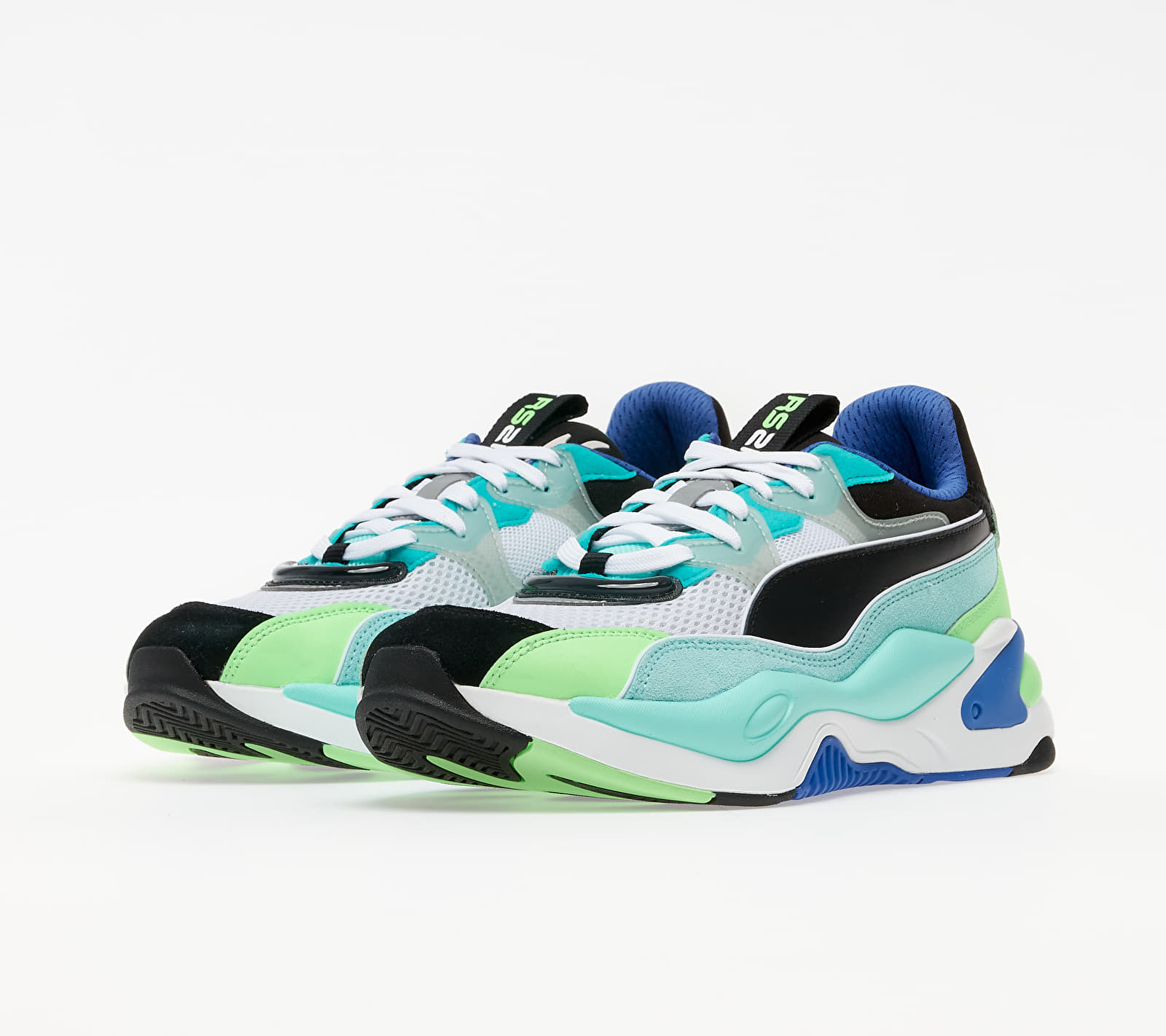 Puma RS-2K Internet Exploring Puma Black-Aruba Blue