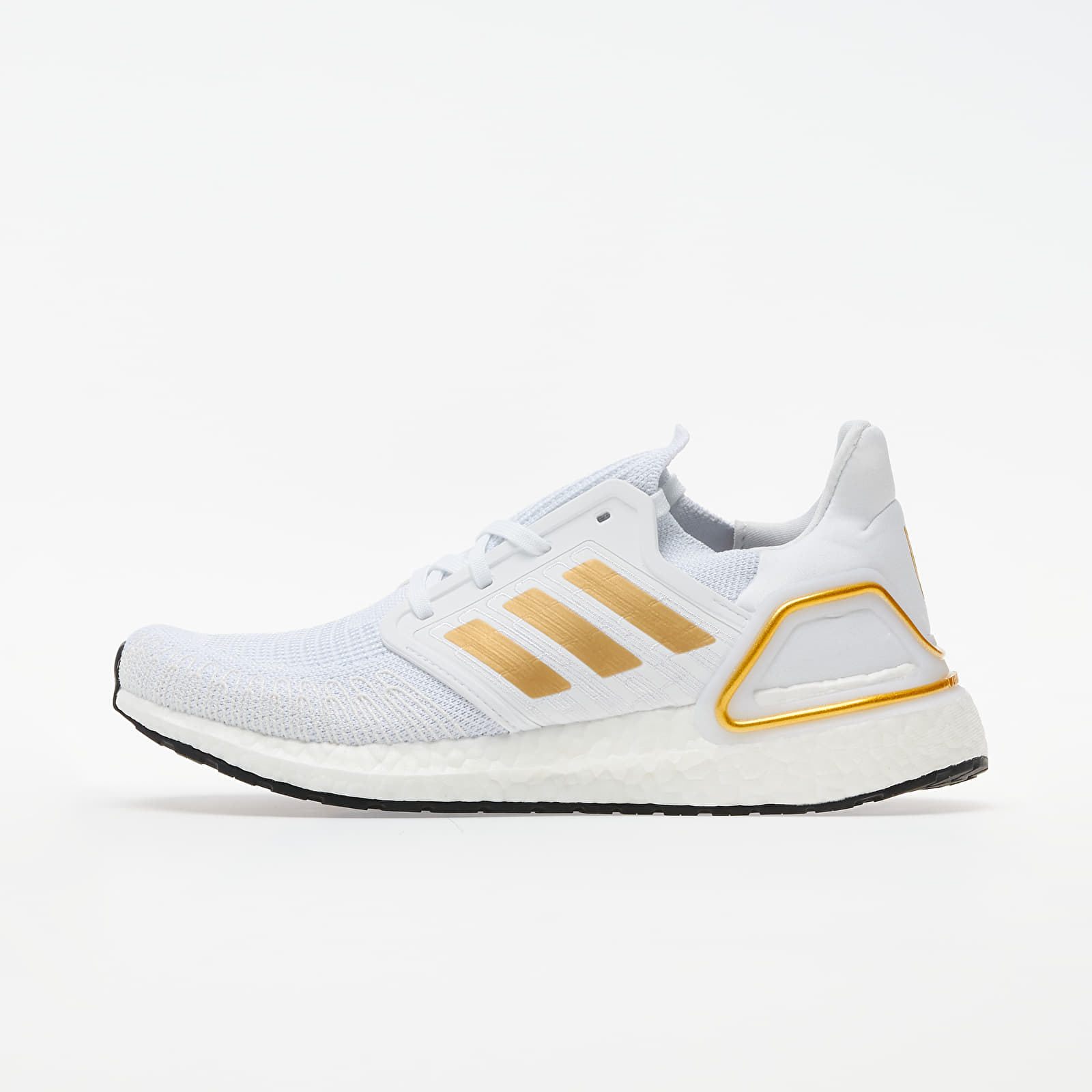 Chaussures et baskets femme adidas UltraBOOST 20 W Ftw White/ Gold Metalic/ Core Black