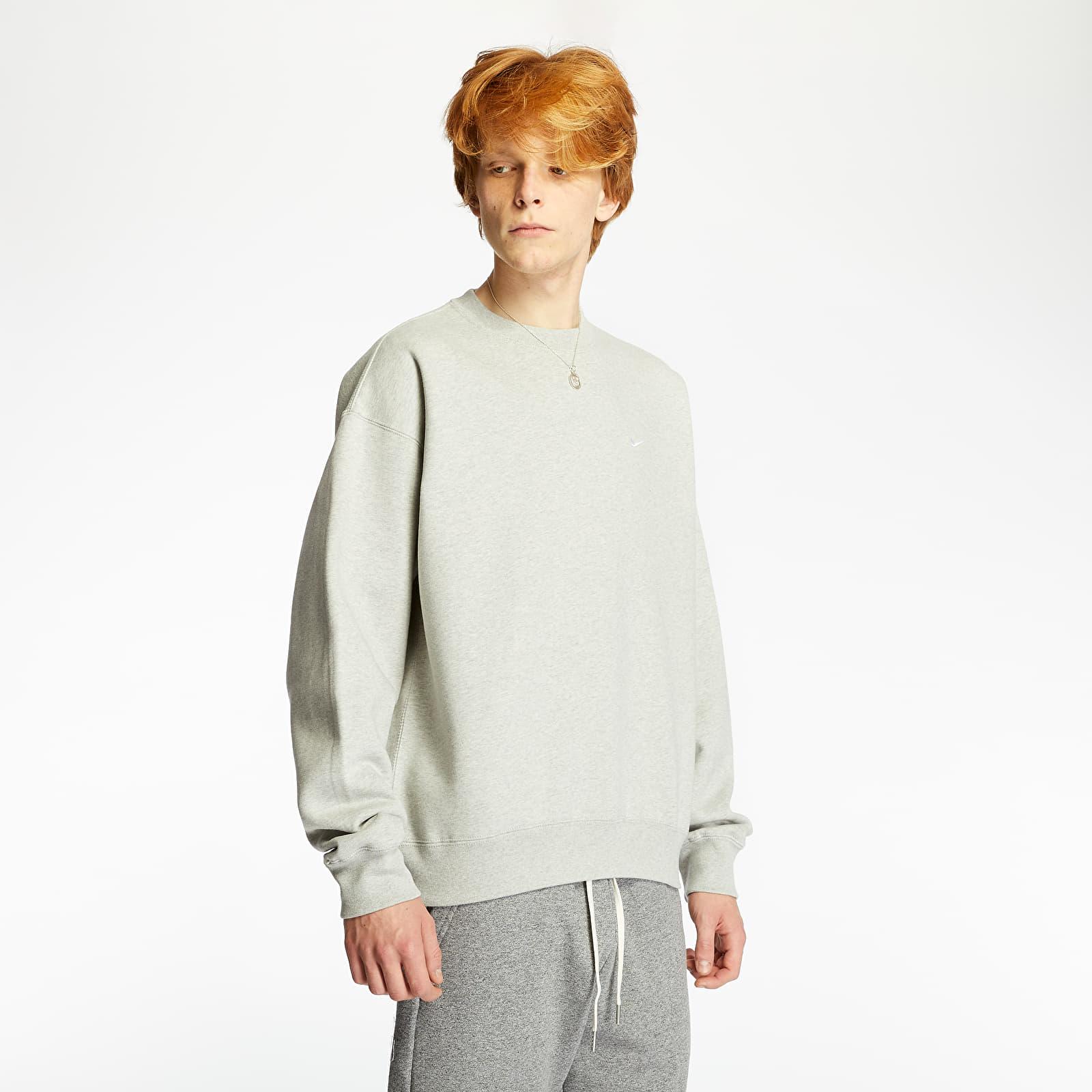 Hoodies and sweatshirts Nike NRG Fleece Crewneck Grey