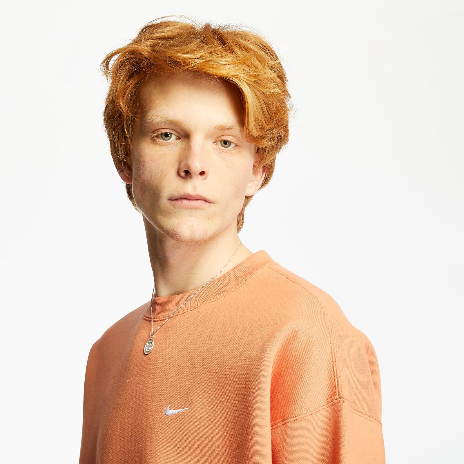 Sweatshirts Nike NRG Fleece Crewneck Orange