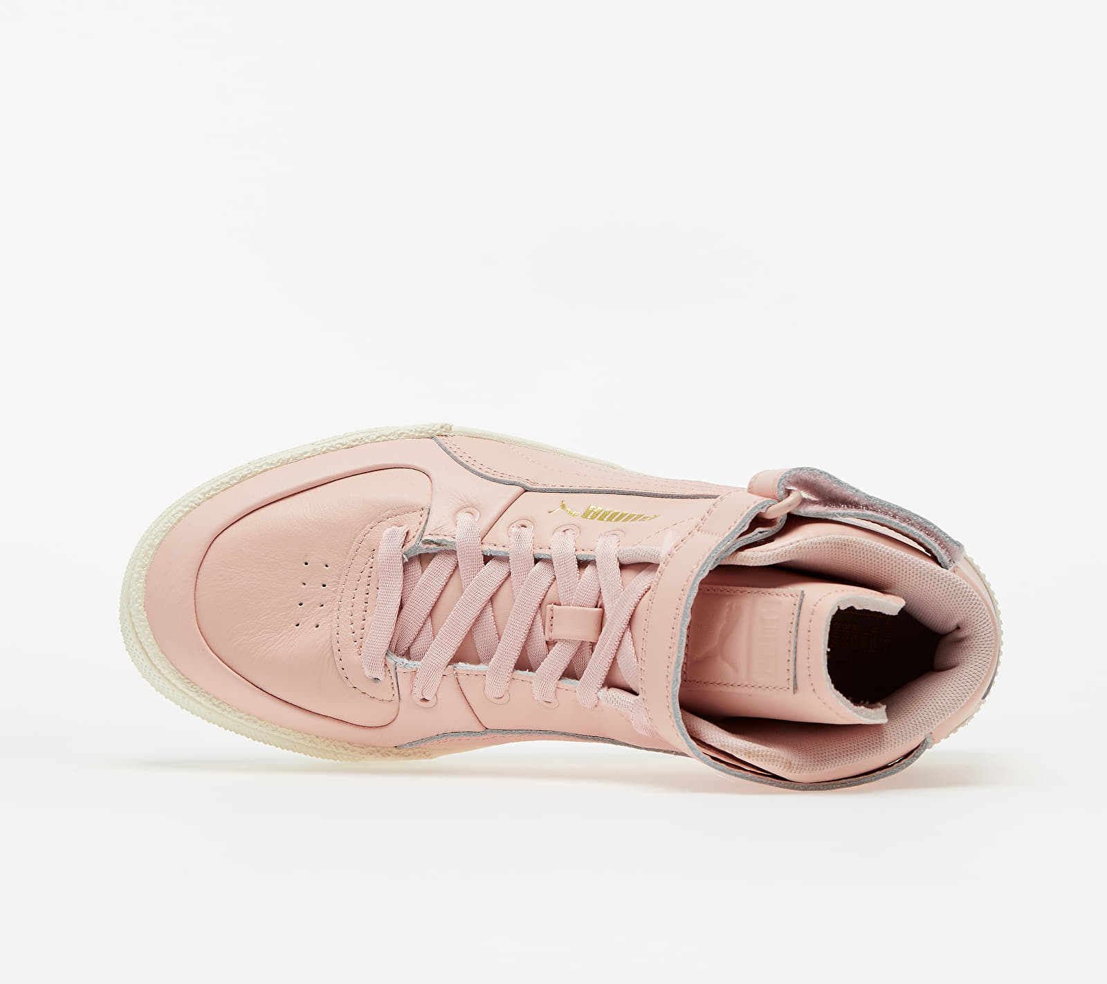 Puma Cali Sport Top Warm Up Wn s Peachskin-Marshmallow, Gray