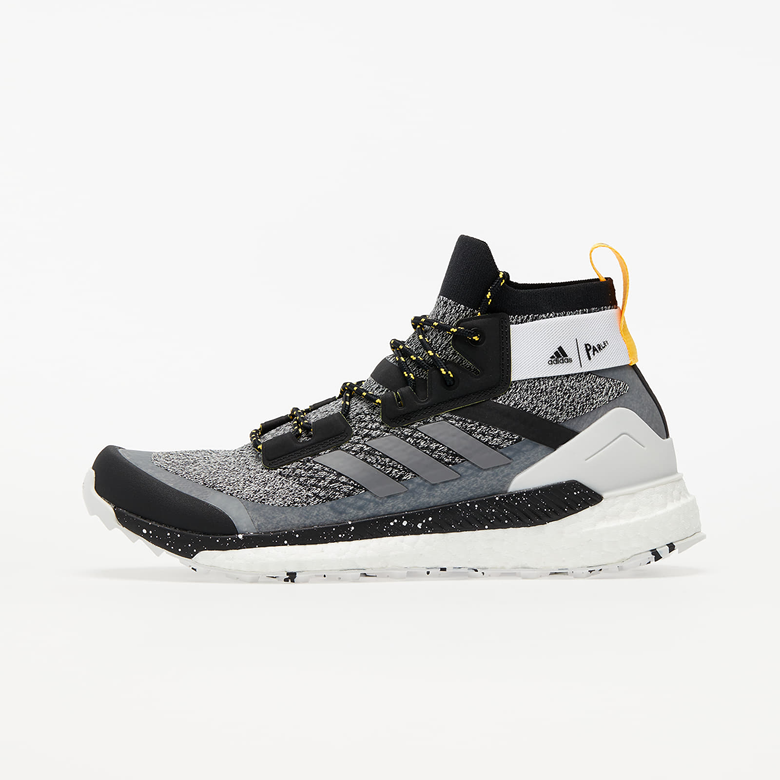 Mid top sneakers and shoes adidas Terrex Free Hiker Parley Ftw White/ Crystal White/ Solid Gold