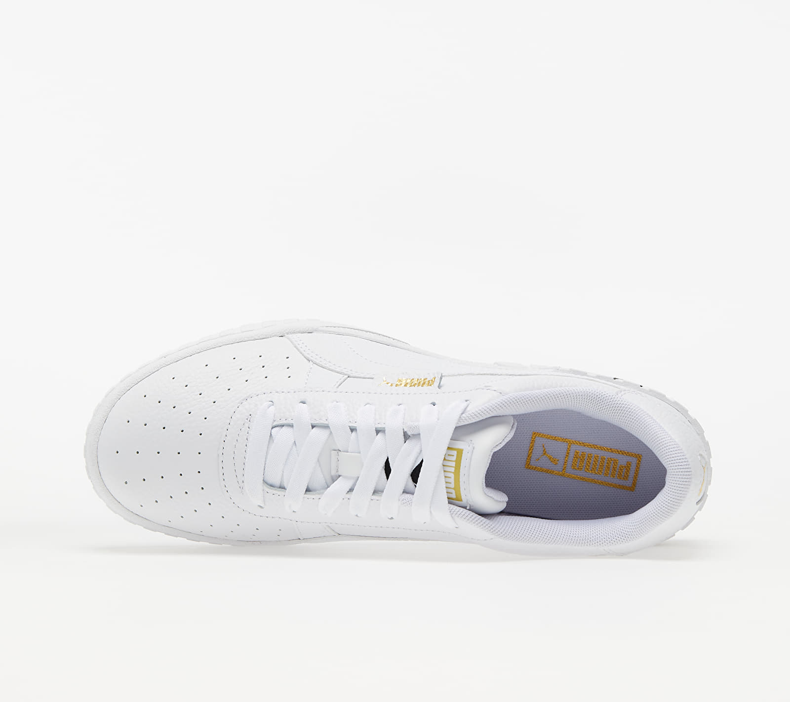 "Puma Cali Wedge Wn""s Puma White-Puma Black"