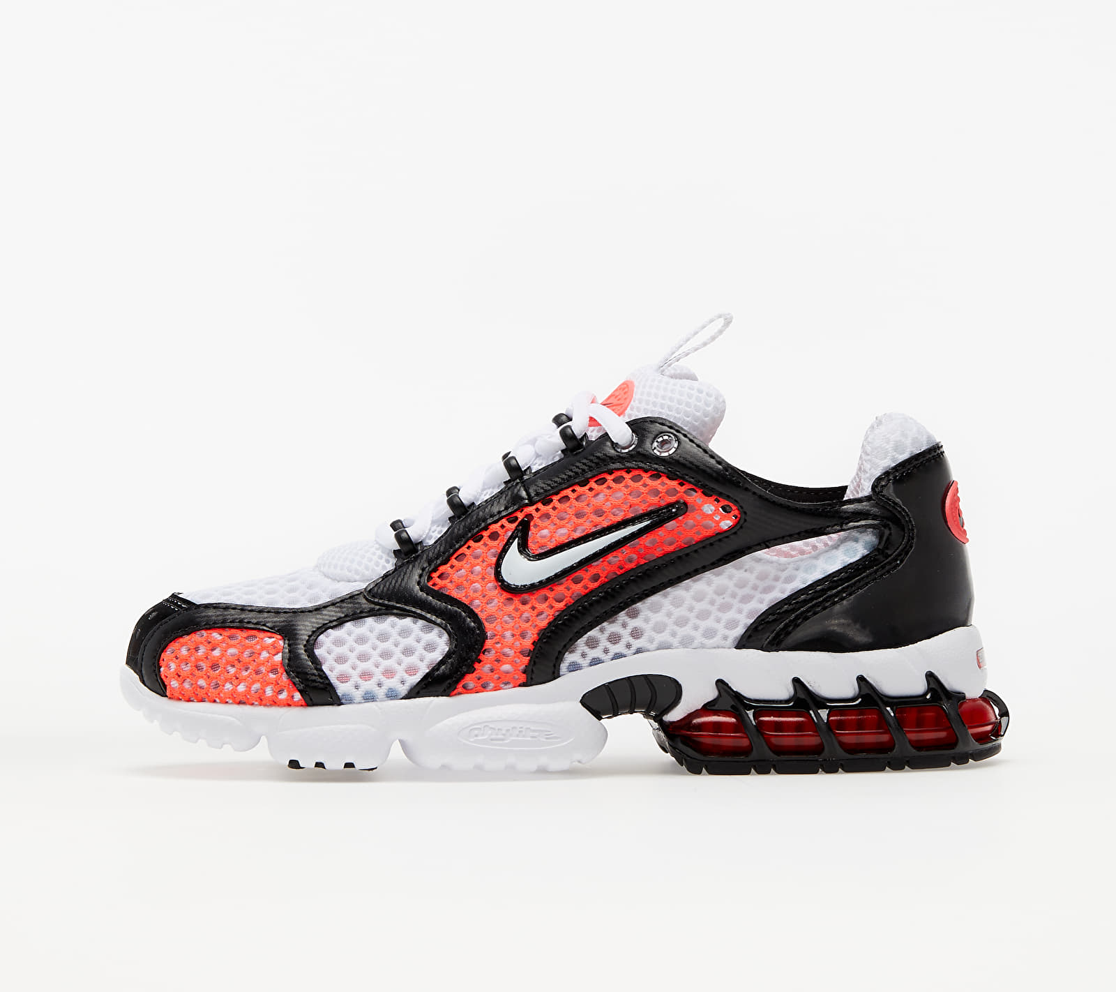 Nike Air Zoom Spiridon Cage 2 (W) White/ White-Flash Crimson-Black EUR 38.5