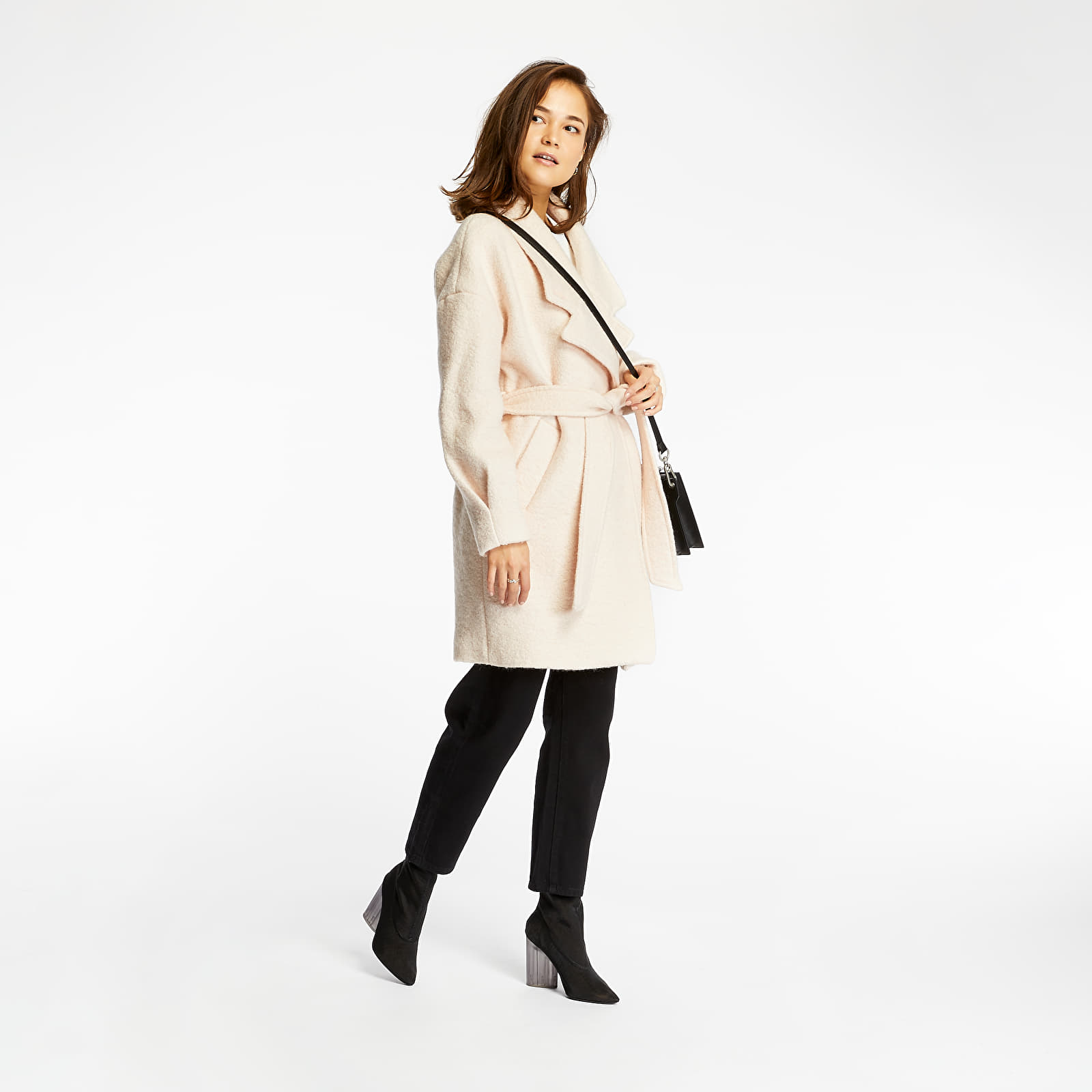 Jackets and Coats SELECTED Paja Wool Coat Sand Dollar