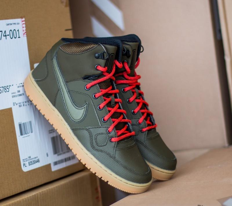 Engañoso Maligno adolescente  Men's shoes Nike Son Of Force Mid Dark Loden/ Dark Loden-Black-Bright Crms  | Footshop