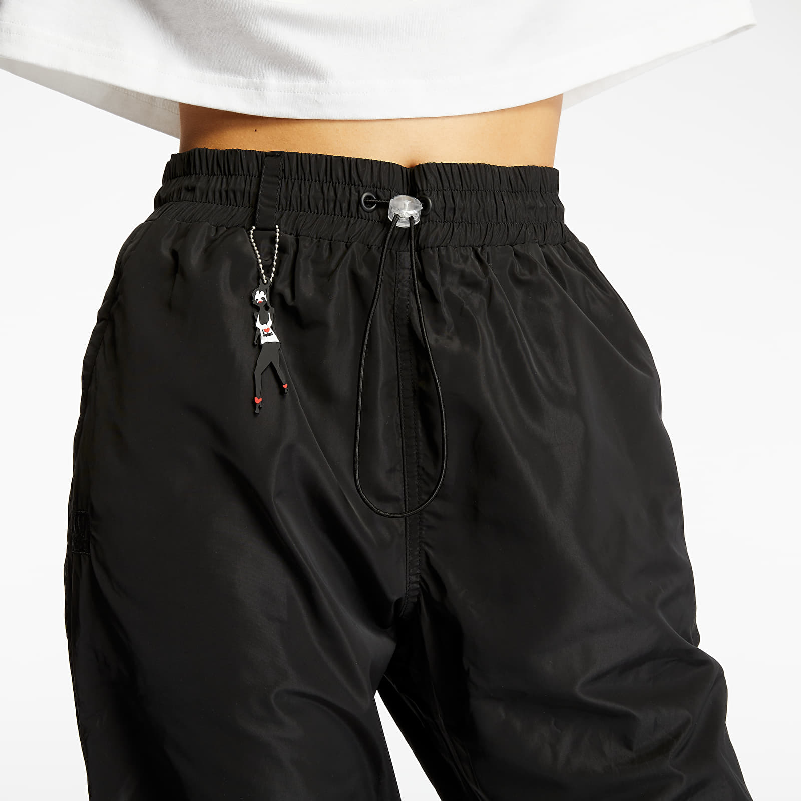 Pants and jeans LIFE IS PORNO Women's Pants Black