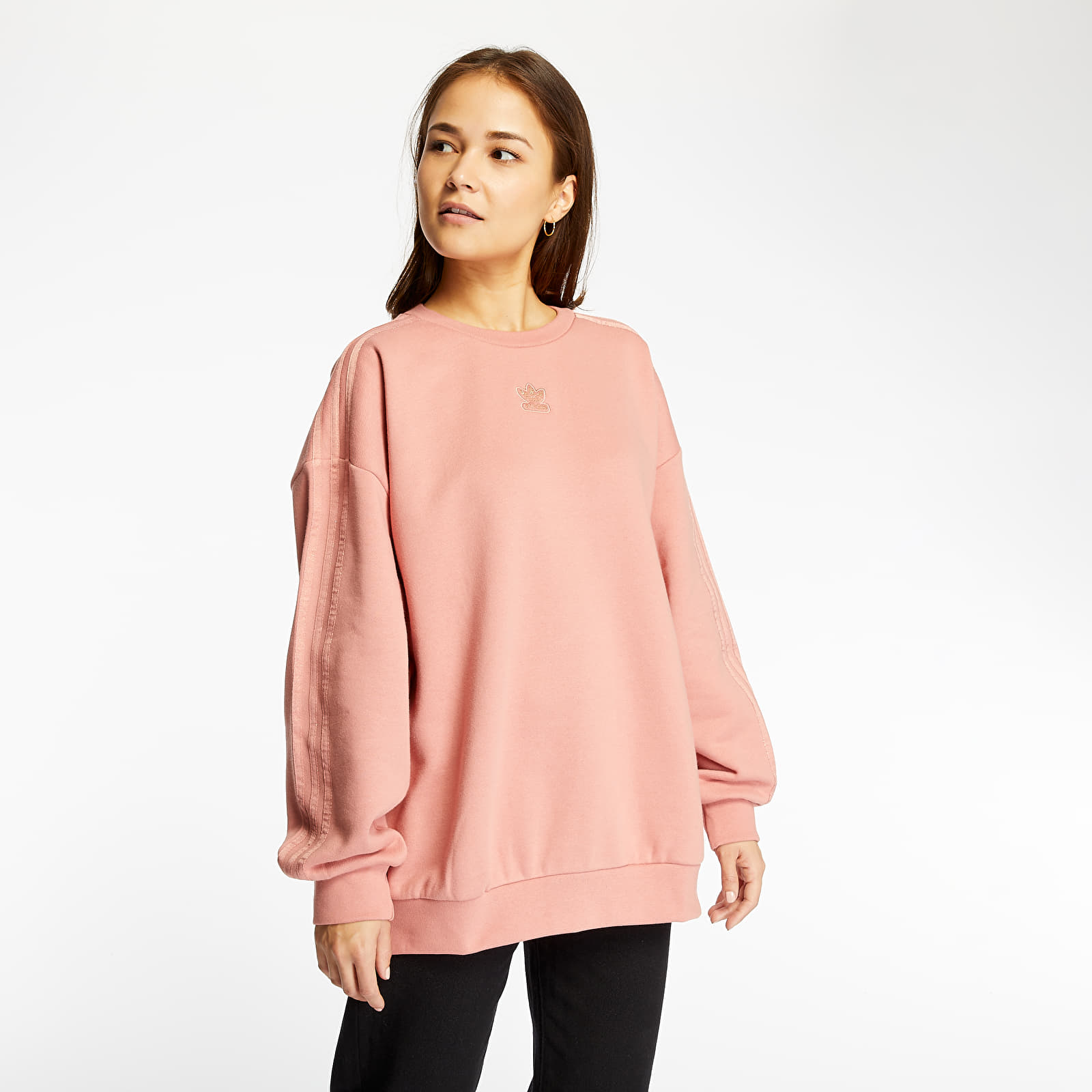 Sweatshirts adidas Crew Sweatshirt Ash Pink