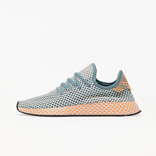 adidas Deerupt Runner Raw Green/ Grey One/ Amber Tint | Footshop