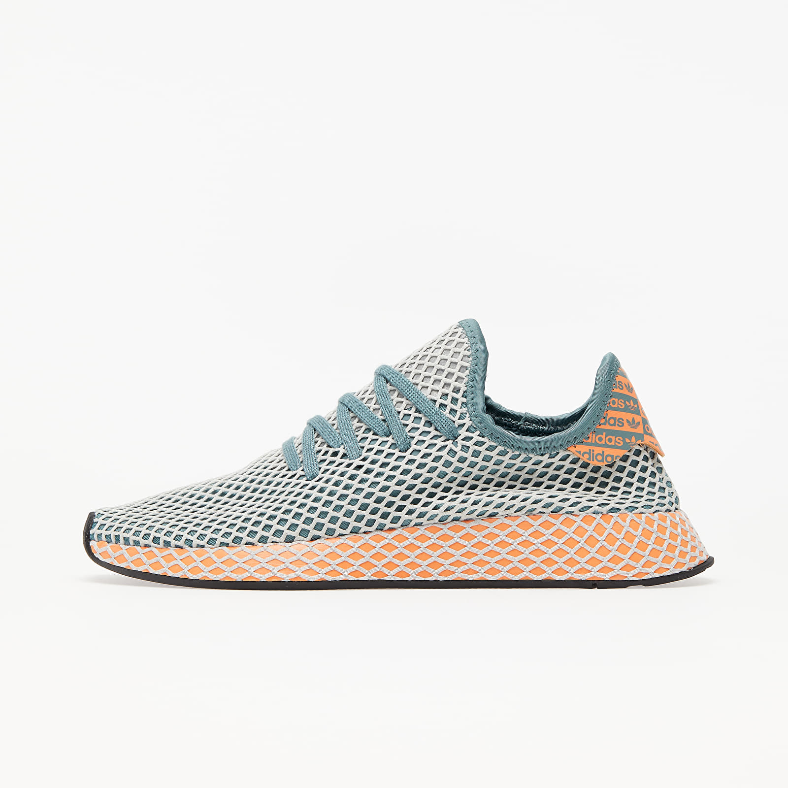 Men's shoes adidas Deerupt Runner Raw Green/ Grey One/ Amber Tint
