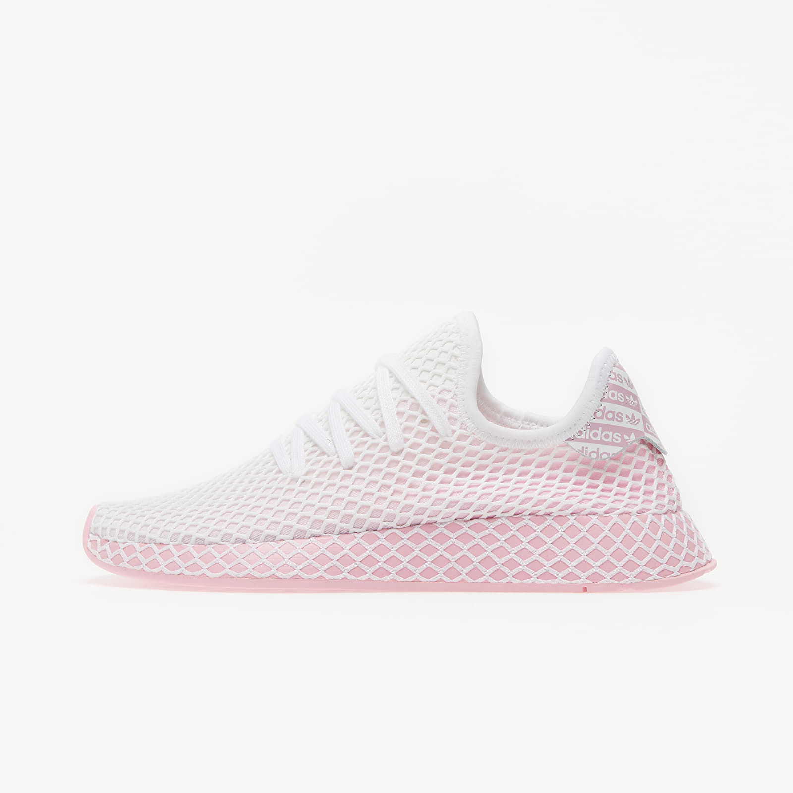 Women's shoes adidas Deerupt Runner W True Pink/ True Pink/ Ftw White