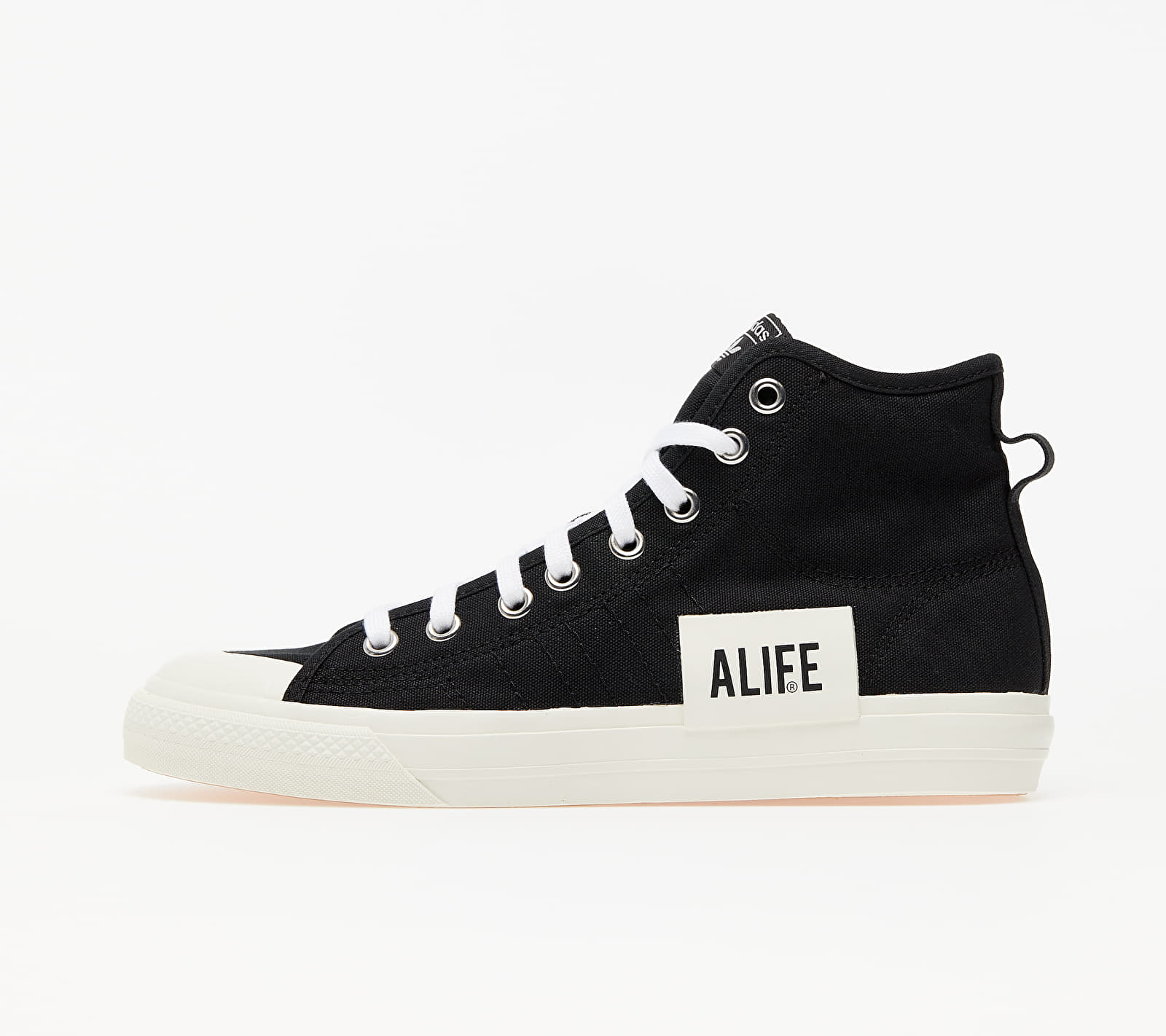adidas x ALIFE Nizza Hi Core Black/ Off White/ Off White EUR 36