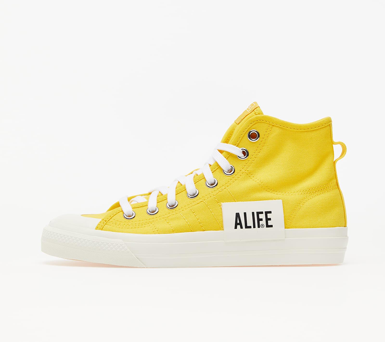 adidas x ALIFE Nizza Hi Wonder Glow/ Off White/ Off White EUR 47 1/3