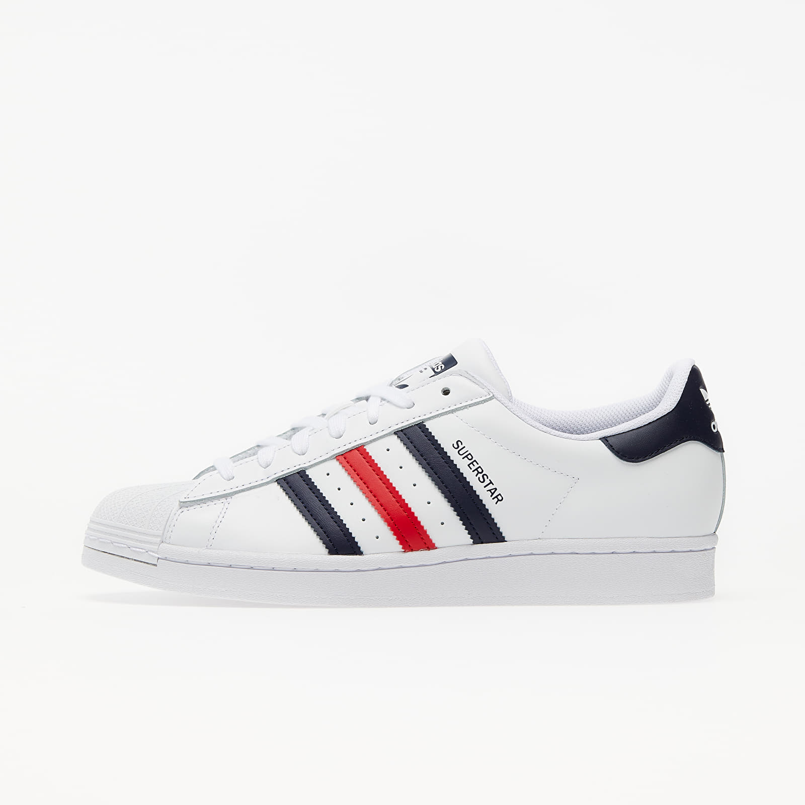 Men's shoes adidas Superstar Ftw White/ Scarlet/ Ftw White