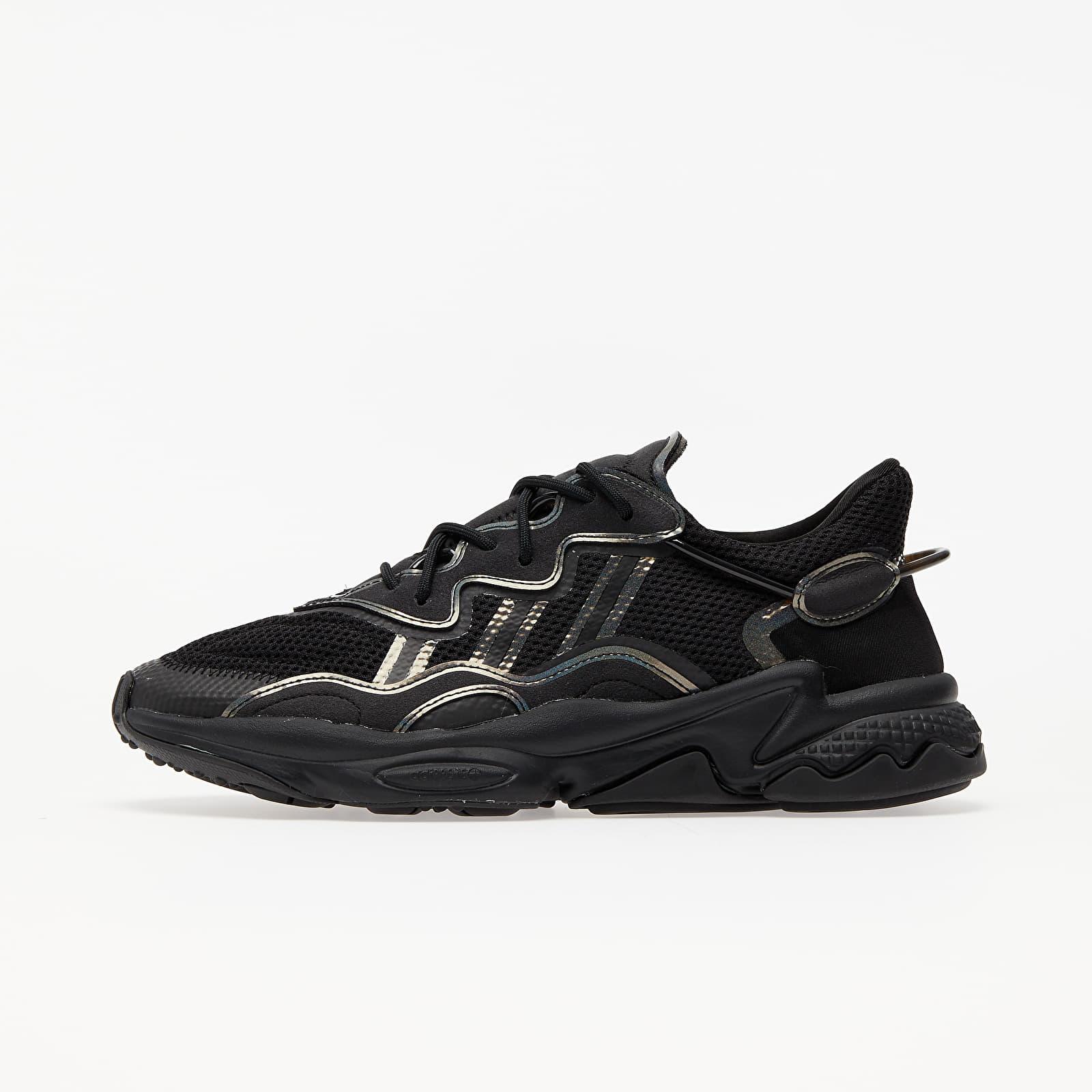Men's shoes adidas Ozweego Core Black/ Core Black/ Ftw White