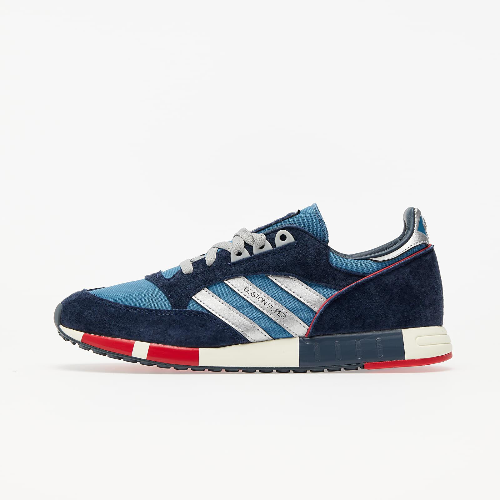 Men's shoes adidas Boston Super Slate Blue/ Silver Metalic/ St Dark Slate