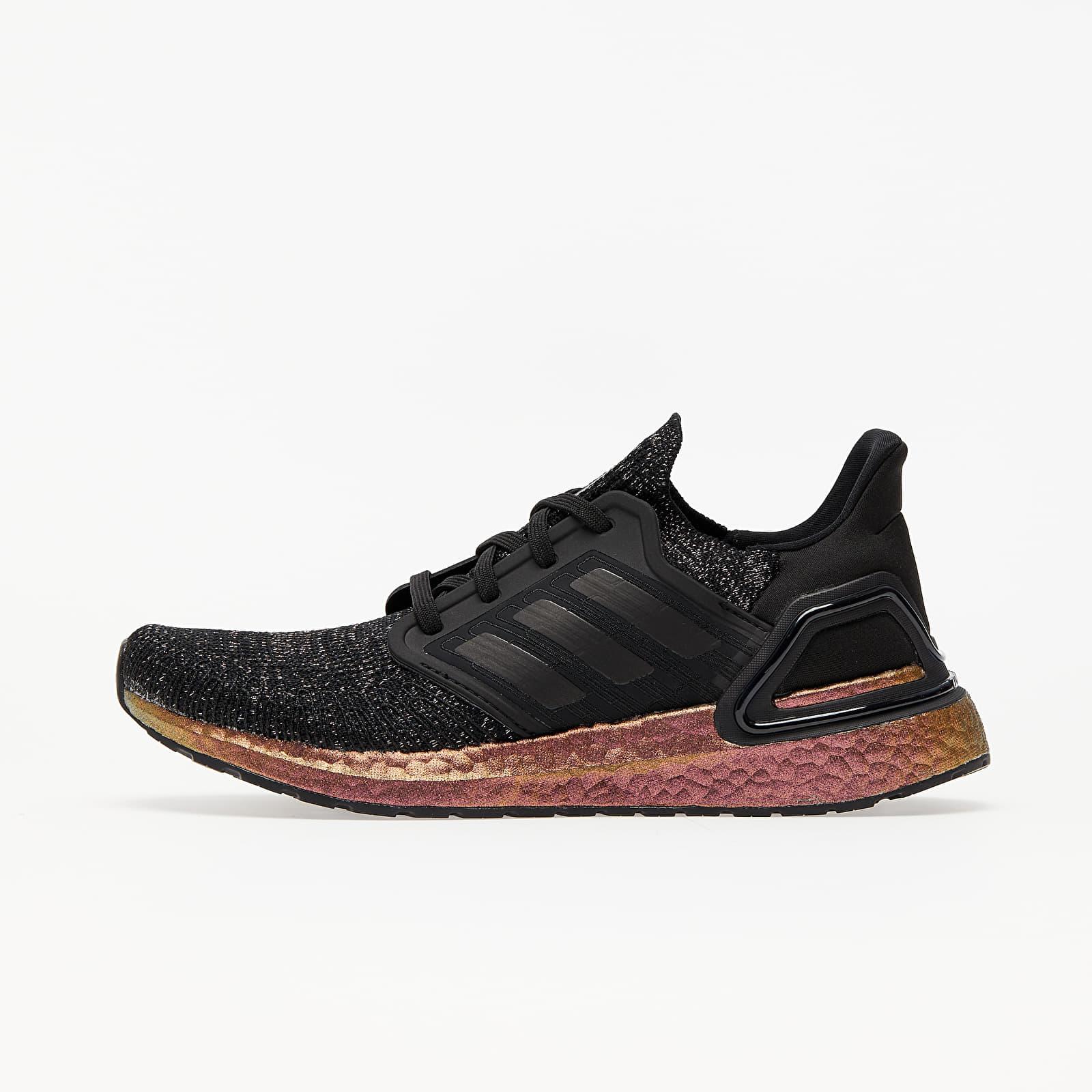Women's shoes adidas UltraBOOST 20 W Core Black/ Core Black/ Signature Pink
