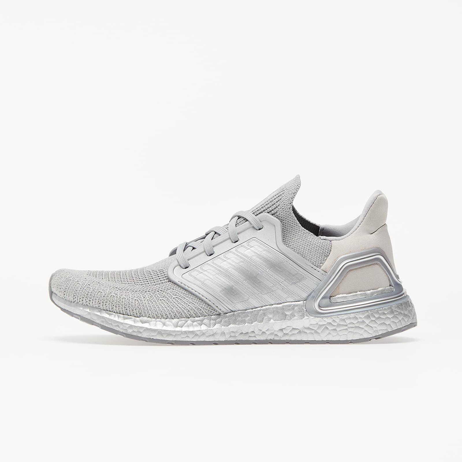 Men's shoes adidas UltraBOOST 20 Silver Metalic/ Silver Metalic/ Silver Metalic