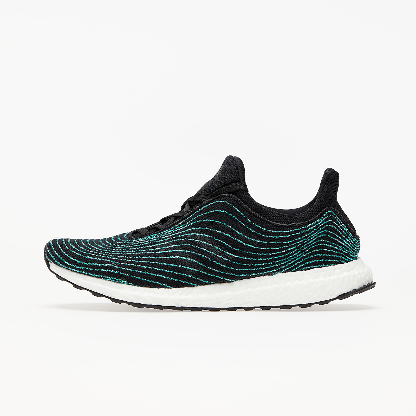 Men's shoes adidas UltraBOOST Dna Parley Core Black/ Core Black/ Blue Spirit