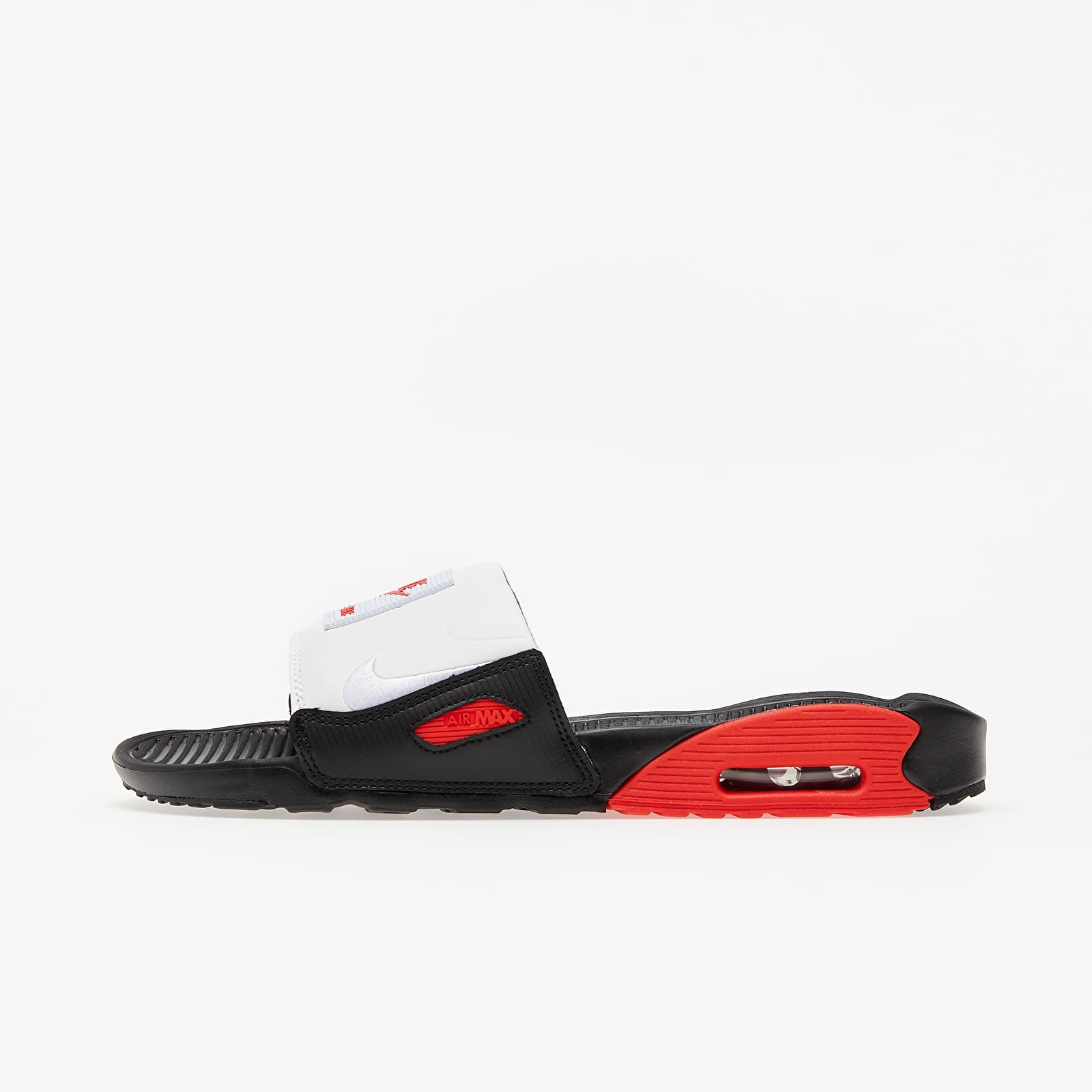 Men's shoes Nike Air Max 90 Slide Black/ White-Chile Red