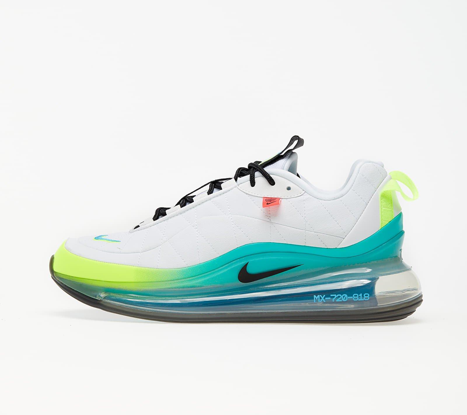 Nike MX-720-818 White/ Black-Blue Fury-Volt EUR 42.5