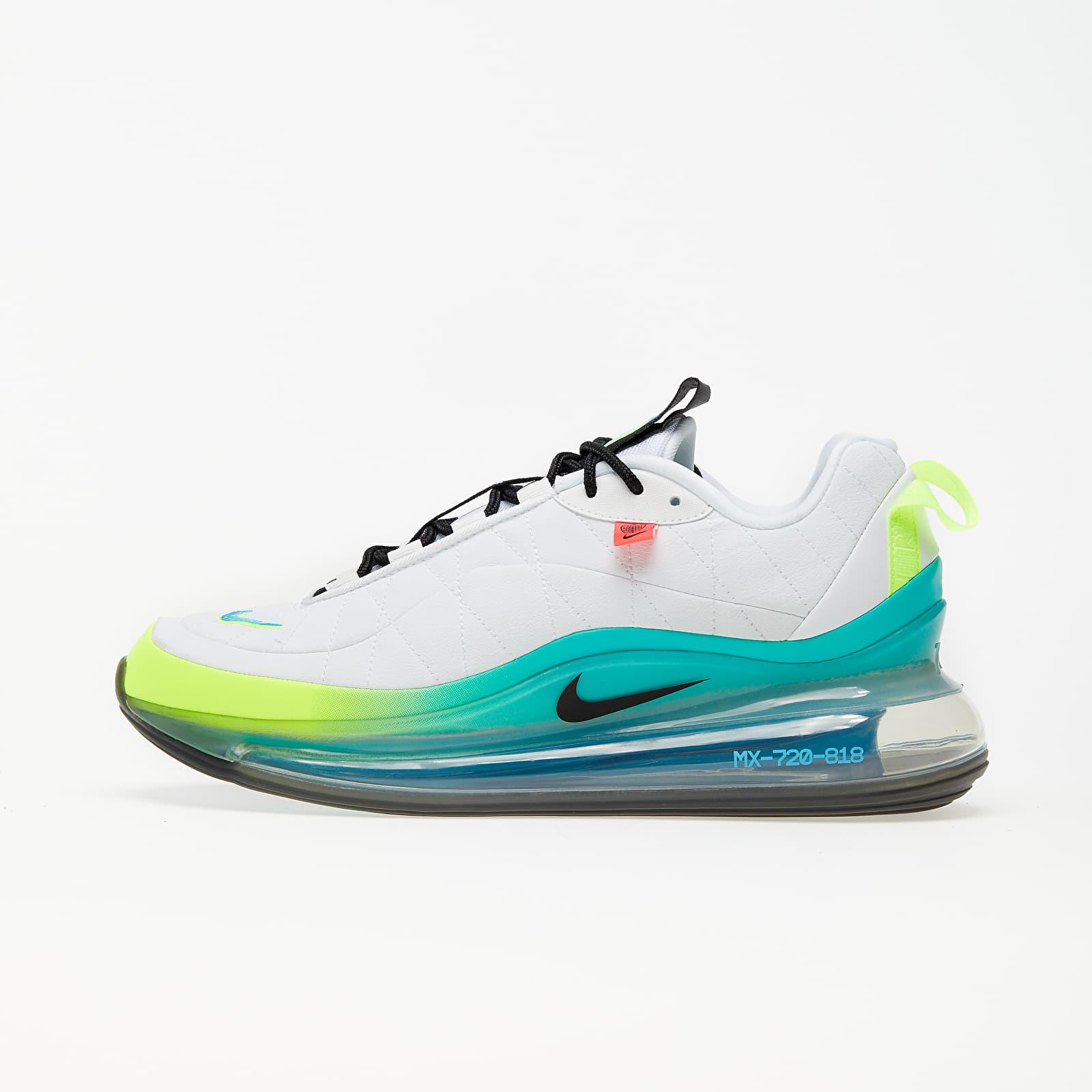 Pánské tenisky a boty Nike MX-720-818 White/ Black-Blue Fury-Volt