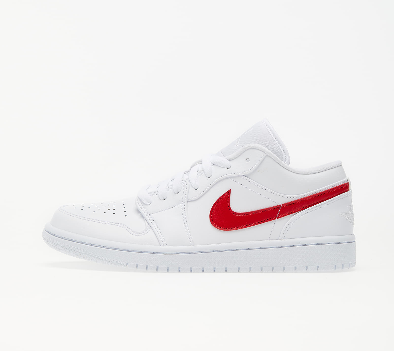 Jordan Wmns Air 1 Low White/ University Red-White EUR 40.5